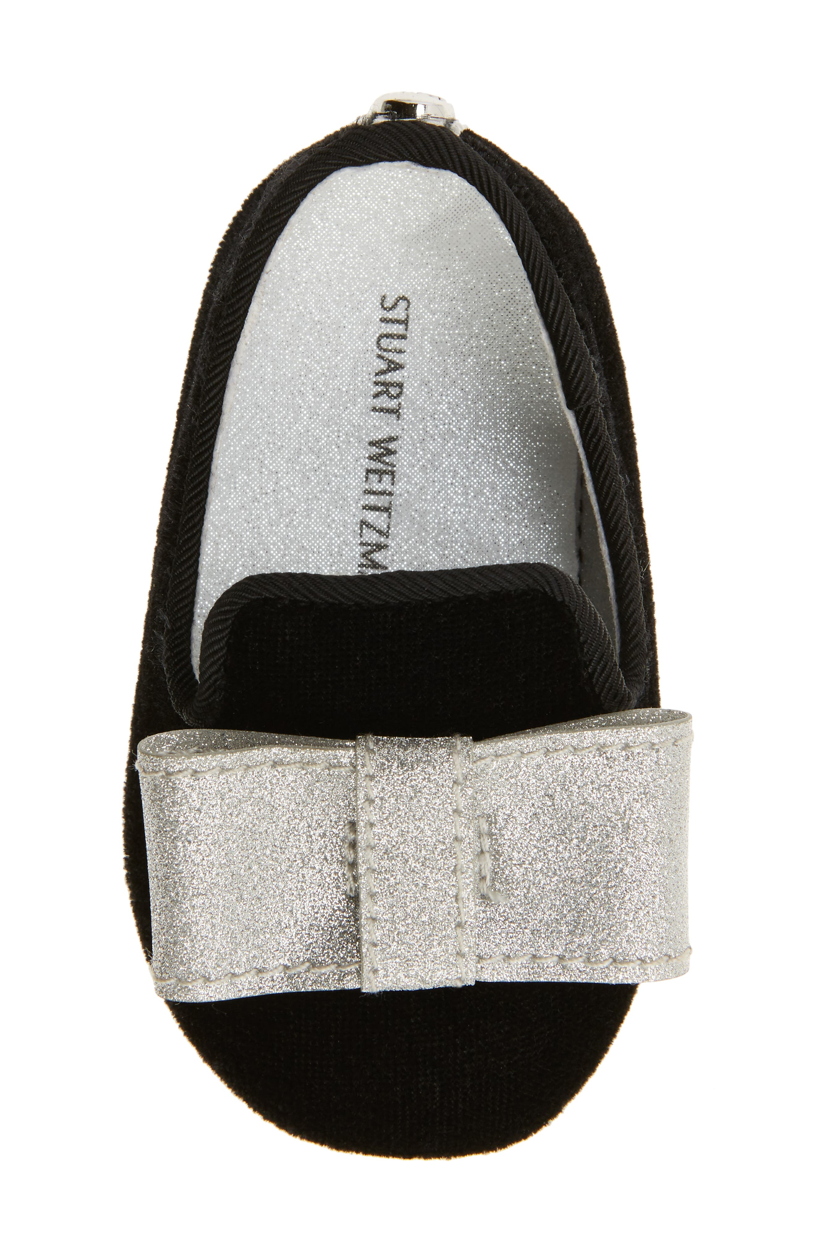 Bow Loafer Crib Shoe,                             Alternate thumbnail 5, color,                             012