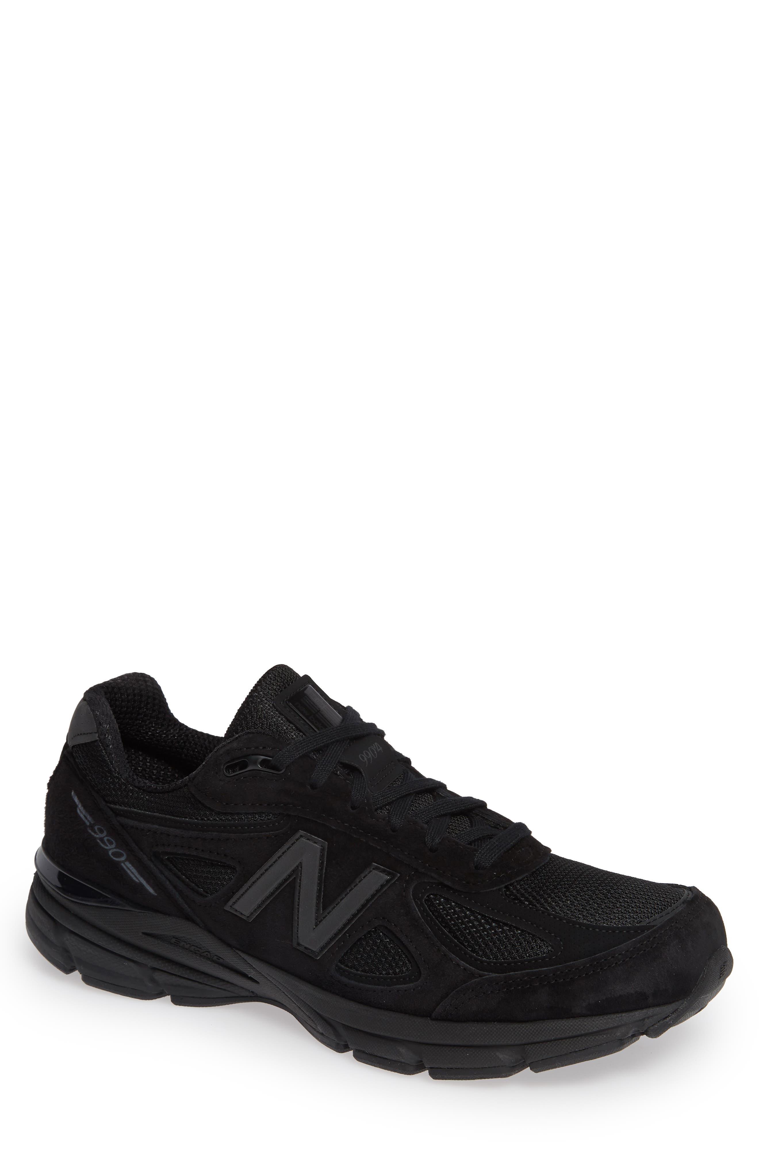 '990' Running Shoe,                             Main thumbnail 1, color,                             BLACK/BLACk
