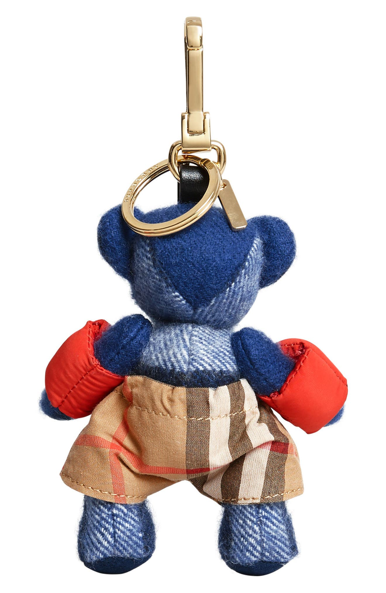 Thomas Bear Beach Bag Charm,                             Alternate thumbnail 5, color,                             400
