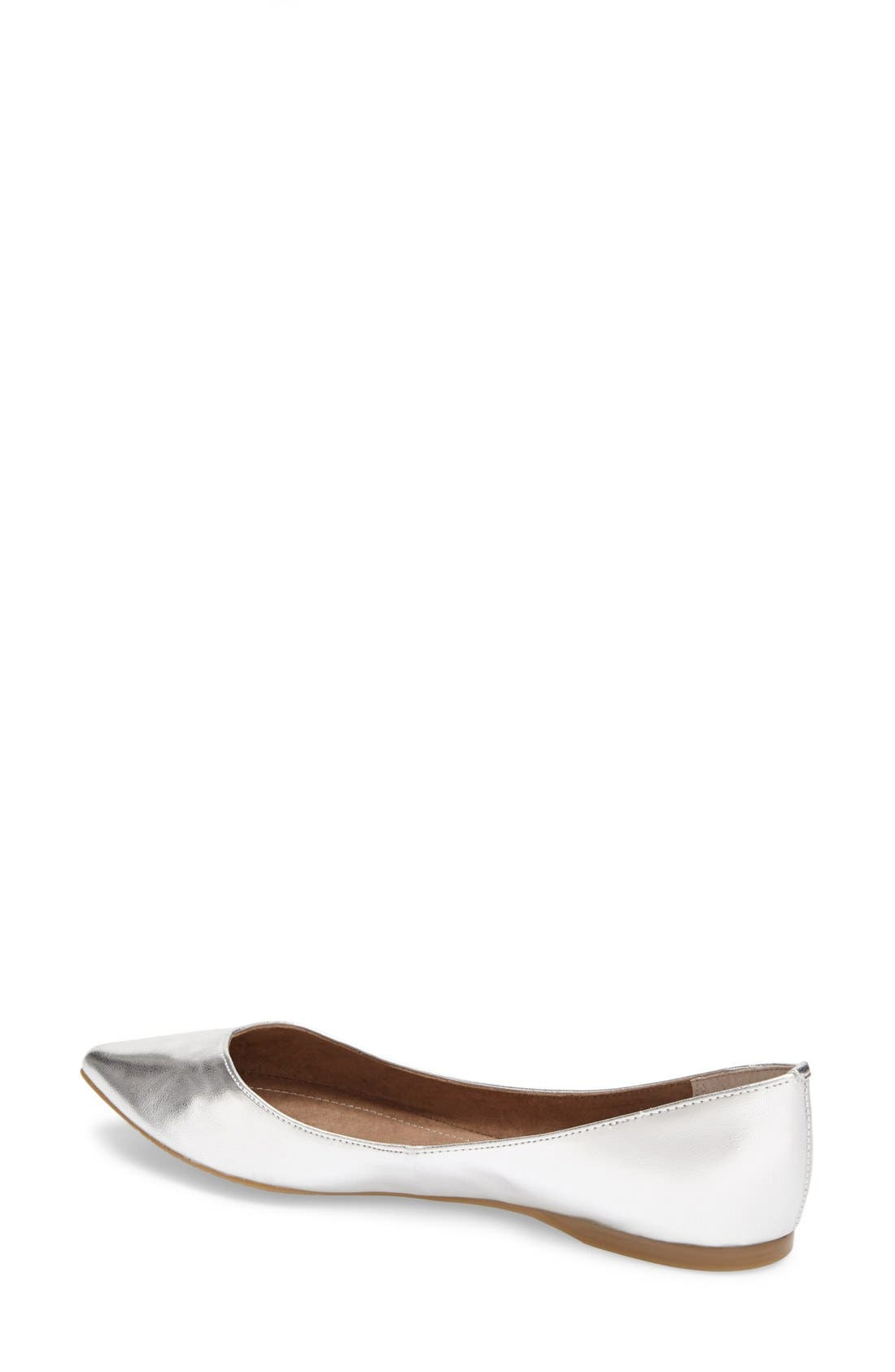 'Moveover' Pointy Toe Flat,                             Alternate thumbnail 17, color,