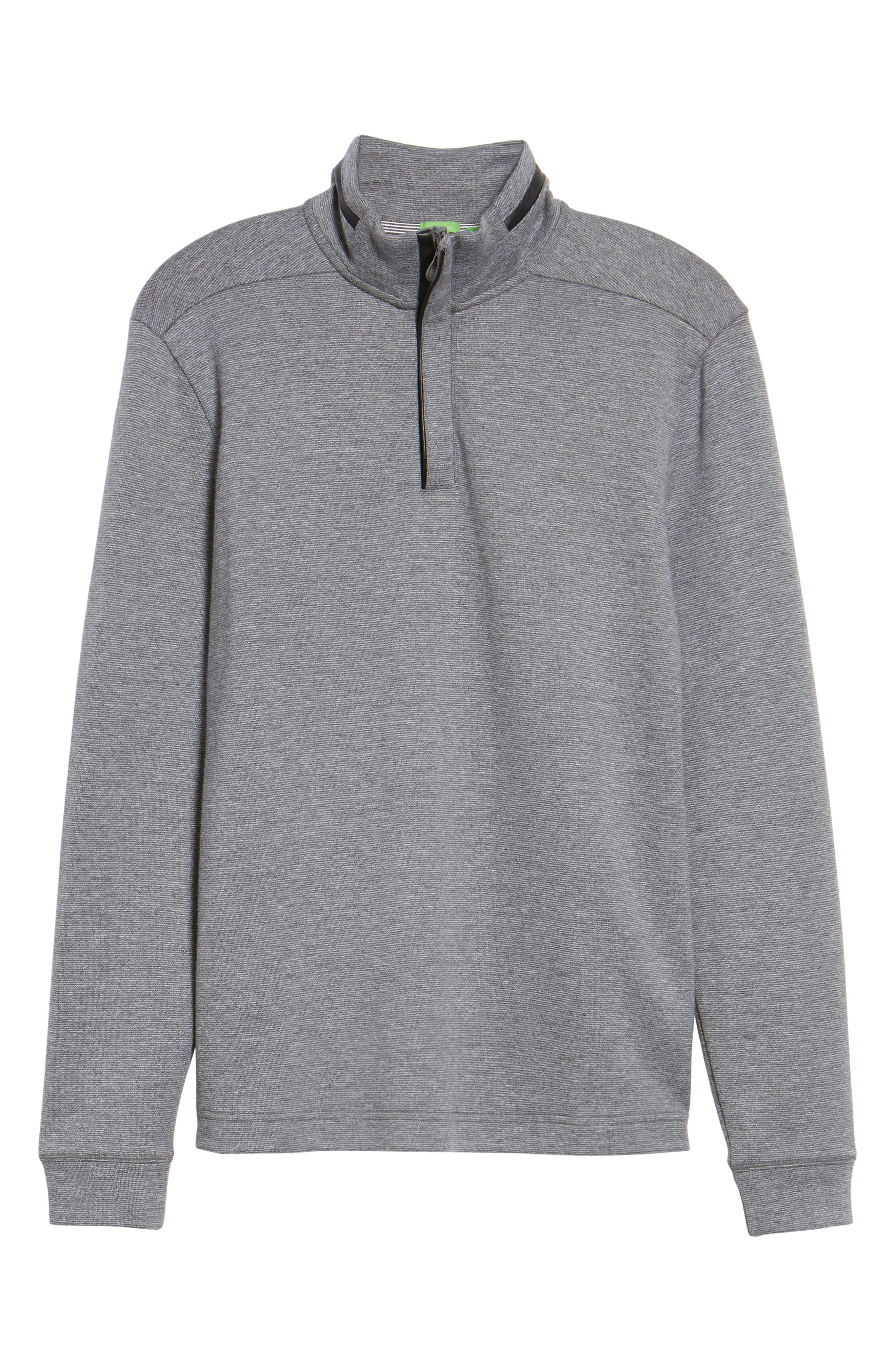 C-Piceno Quarter Zip Fleece Pullover,                             Alternate thumbnail 17, color,