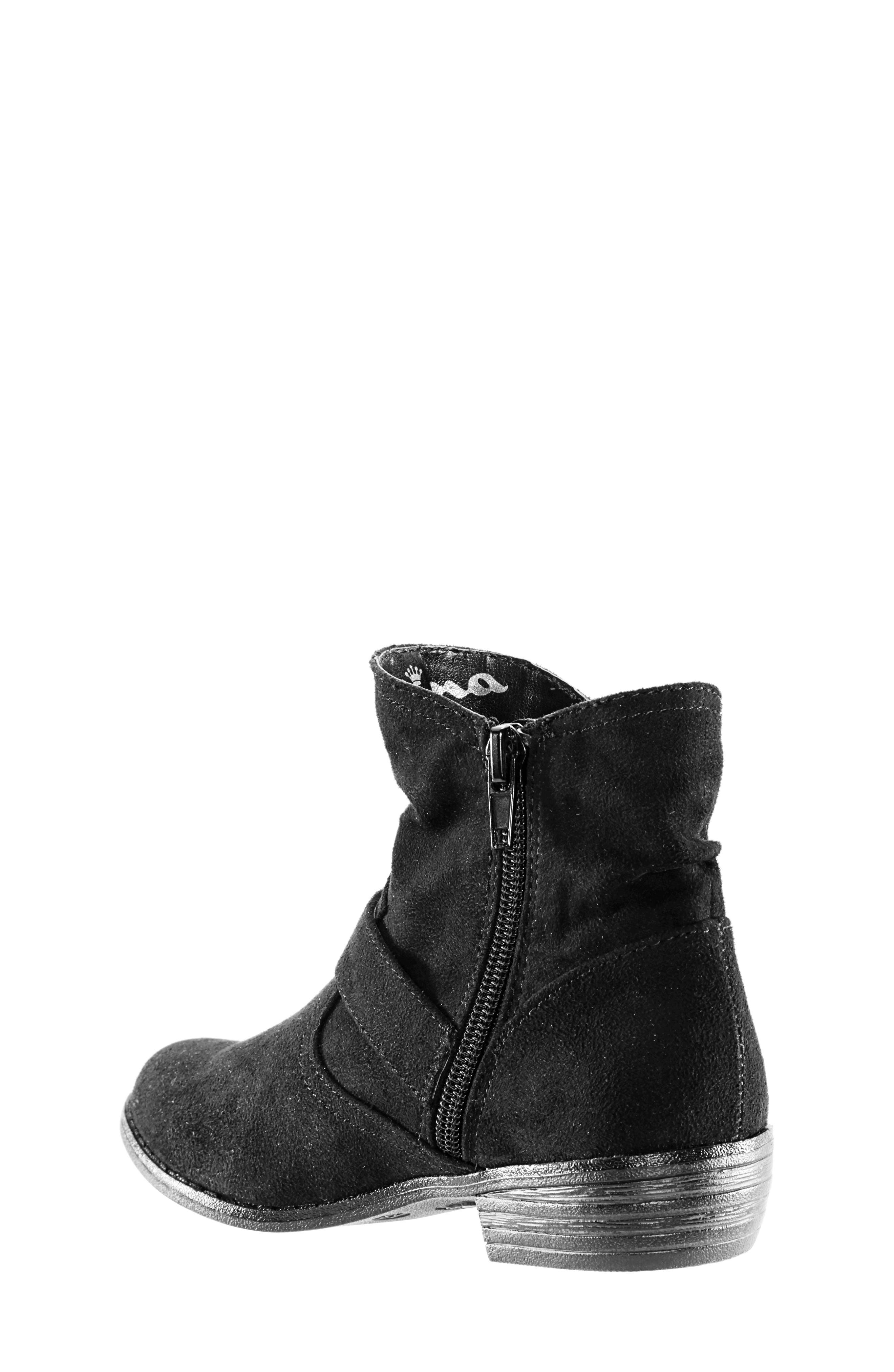 Dorrie Moto Bootie,                             Alternate thumbnail 2, color,                             BLACK BURNISHED
