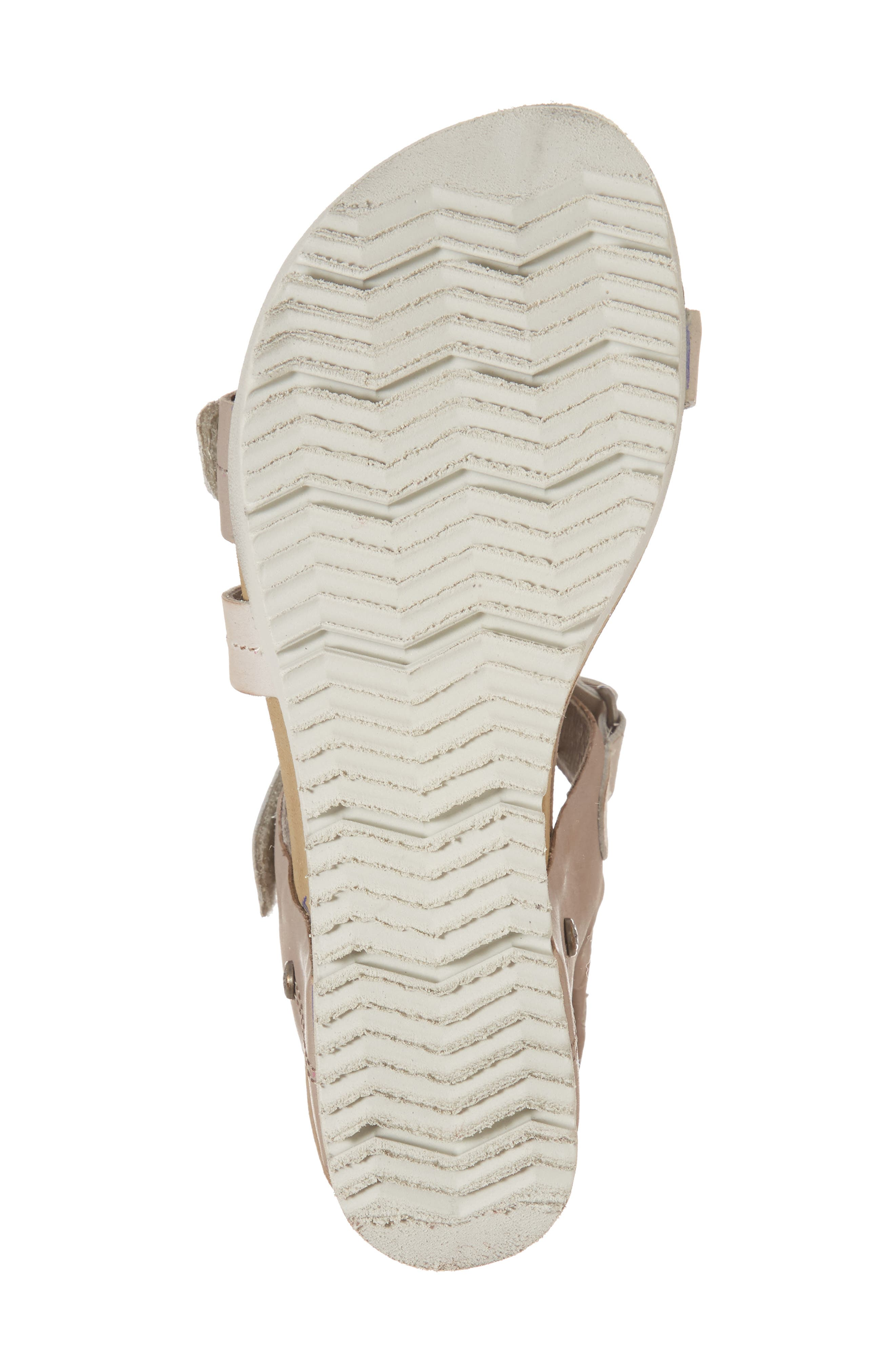 Wavey Wedge Sandal,                             Alternate thumbnail 17, color,