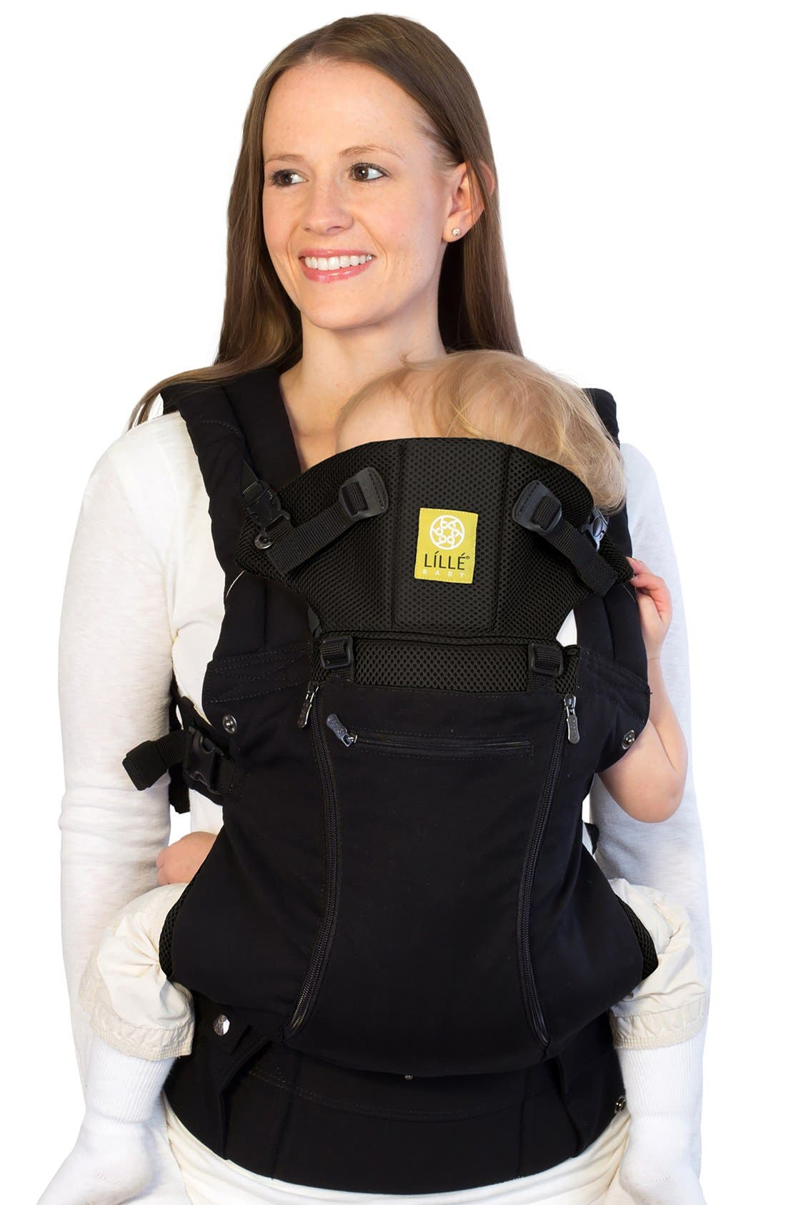 'Complete - All Seasons' Baby Carrier,                             Main thumbnail 1, color,                             BLACK