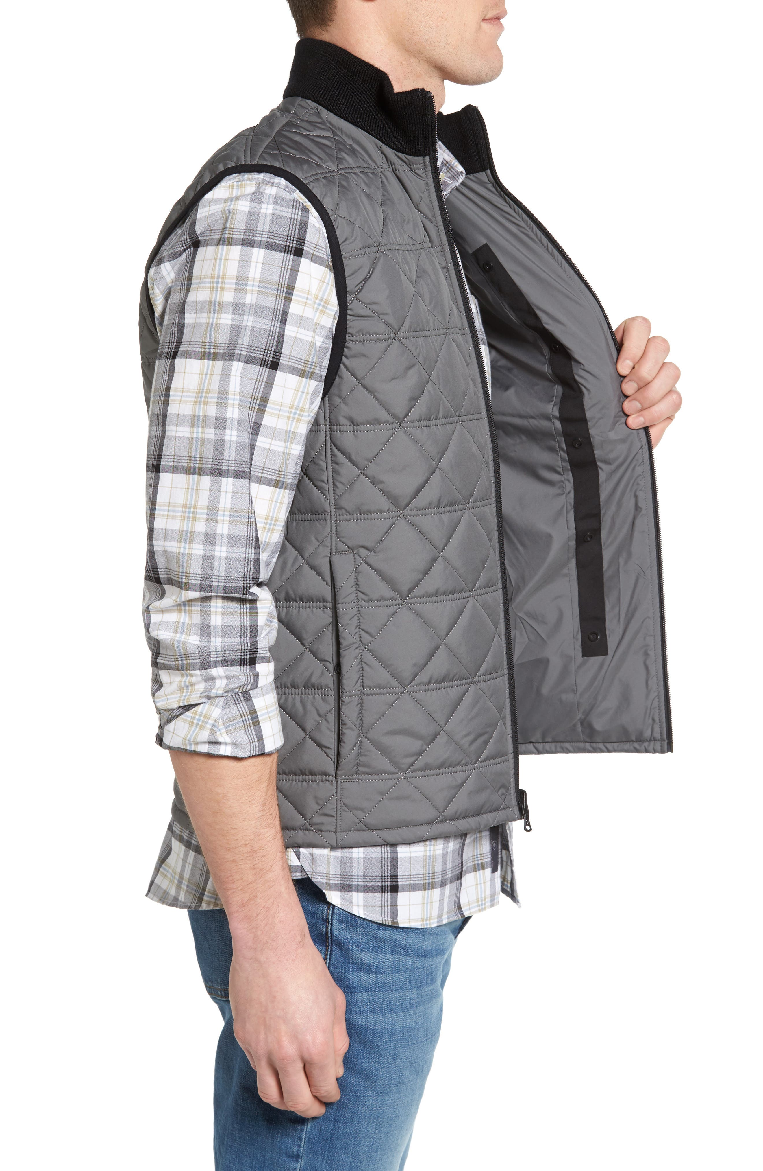Quilted Vest,                             Alternate thumbnail 3, color,                             034