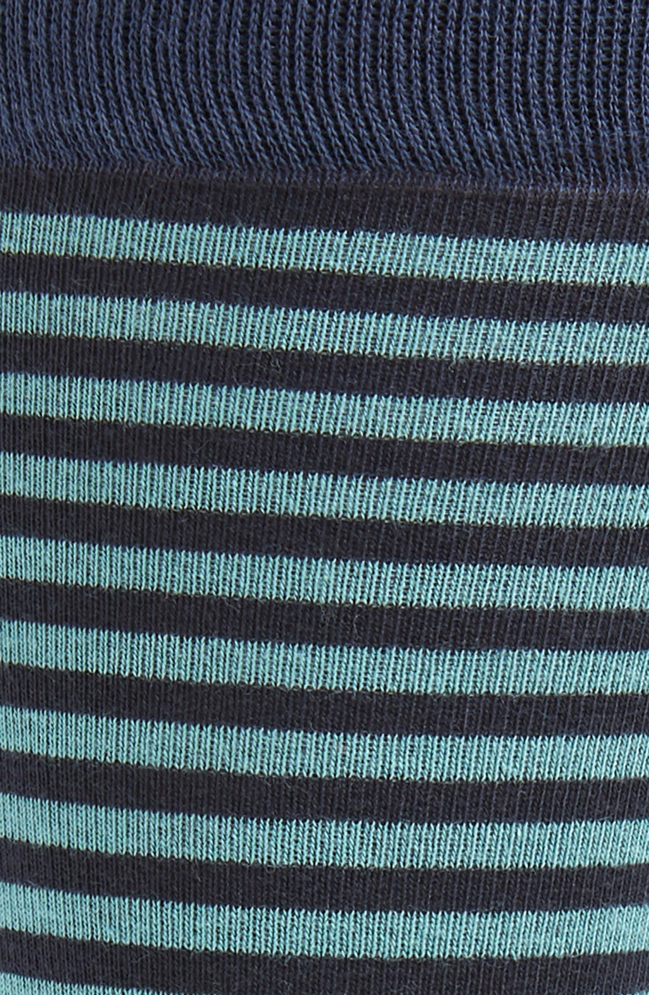 Stripe Socks,                             Alternate thumbnail 2, color,                             410