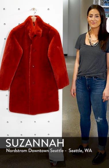 Faux Fur Reversible Coat, sales video thumbnail