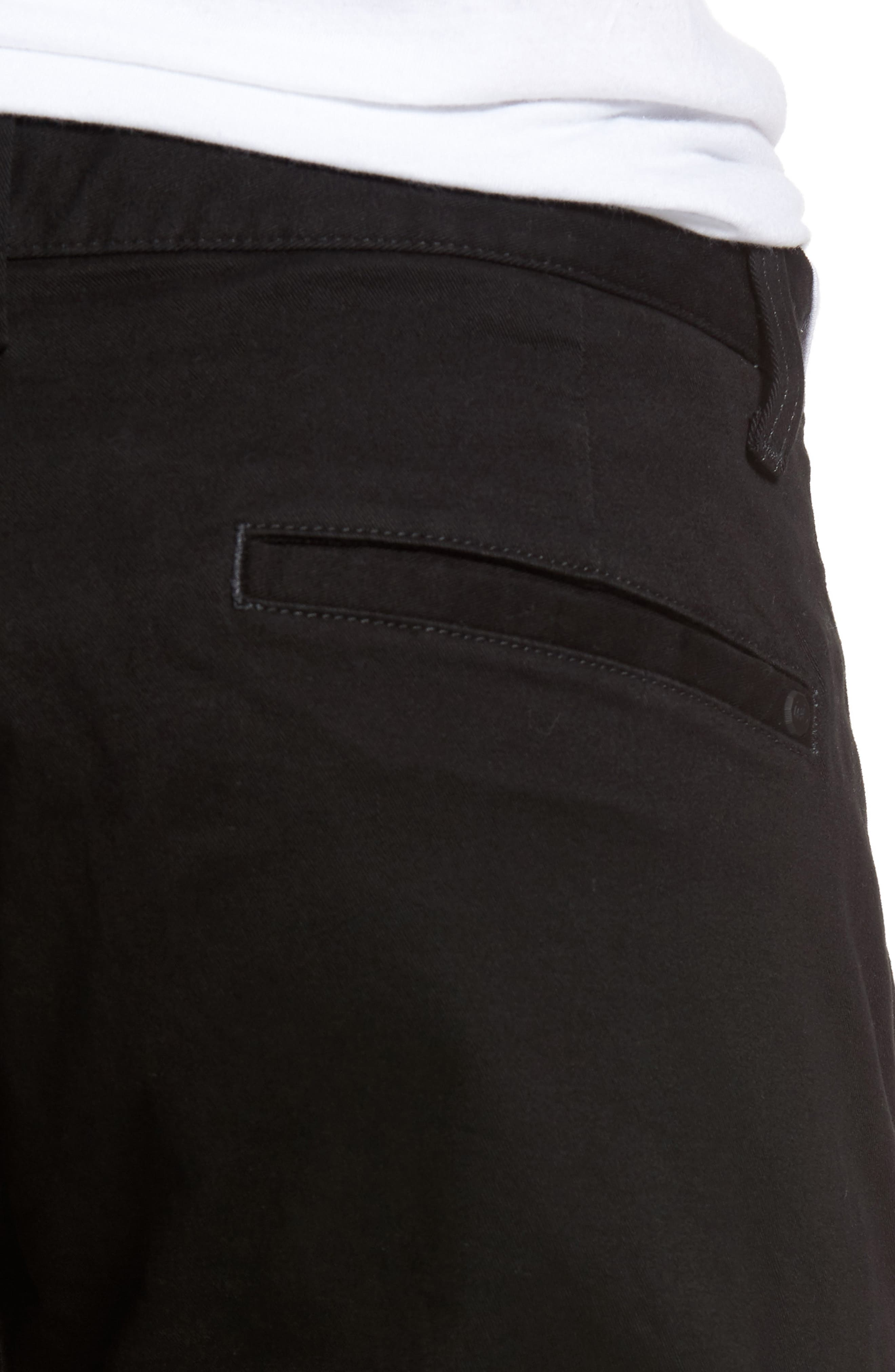 Federal Cropped Chinos,                             Alternate thumbnail 4, color,                             001
