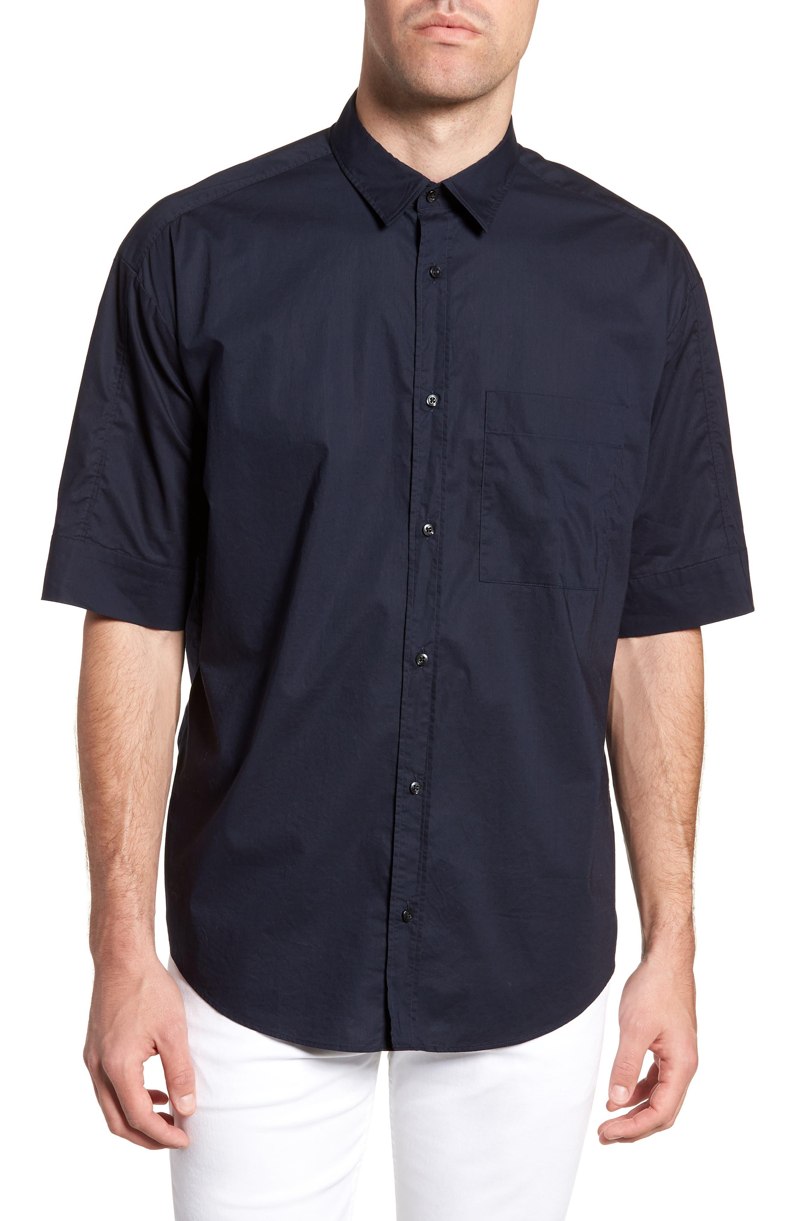 Eynold Oversized Short Sleeve Sport Shirt,                             Main thumbnail 1, color,                             413