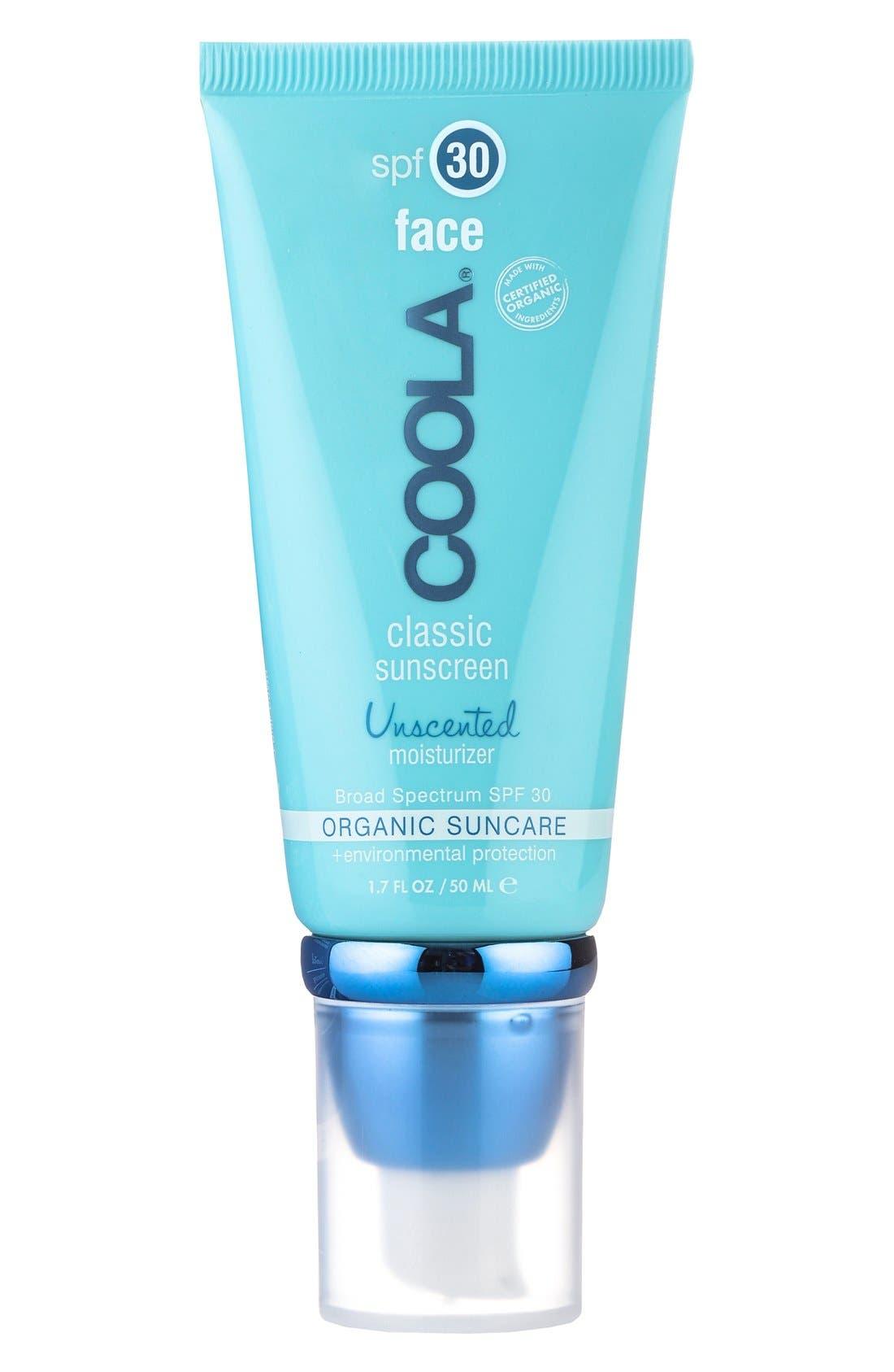 Coola Suncare Face Classic Sunscreen Spf 30, .7 oz