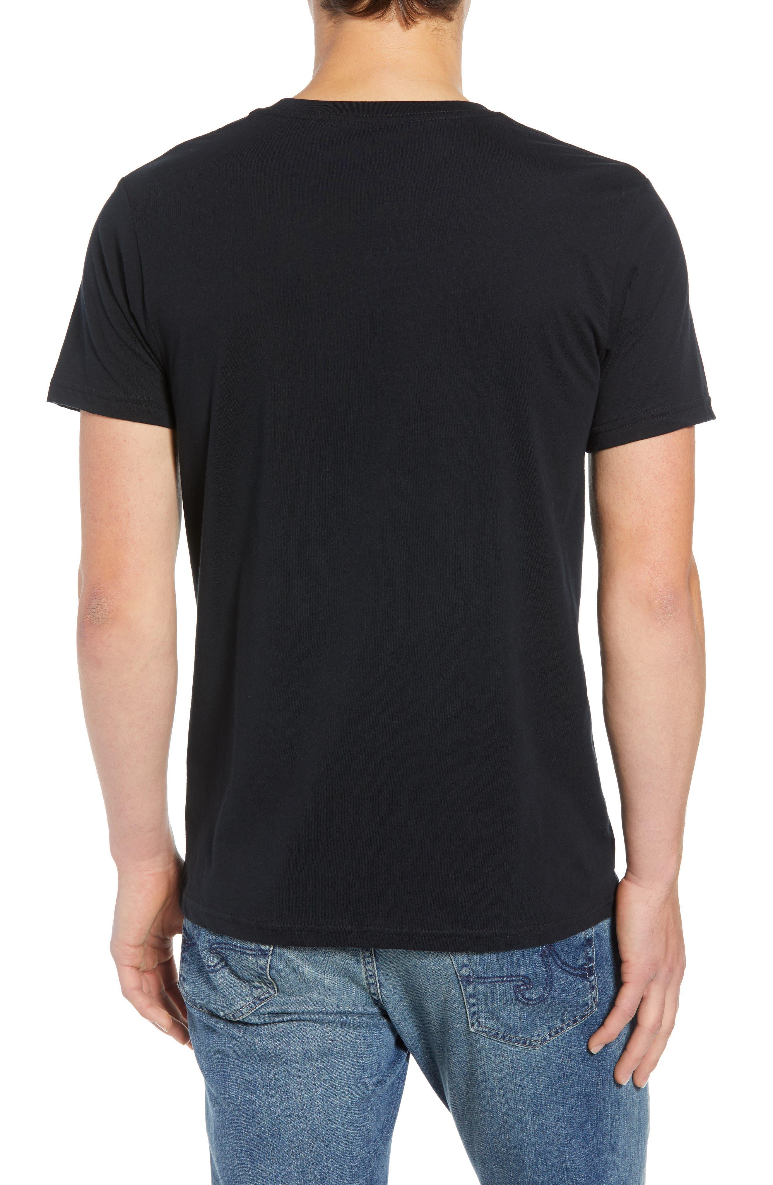 Flying Fish Organic Cotton T-Shirt,                             Alternate thumbnail 2, color,                             BLACK/ ALBANIAN LANDSCAPE
