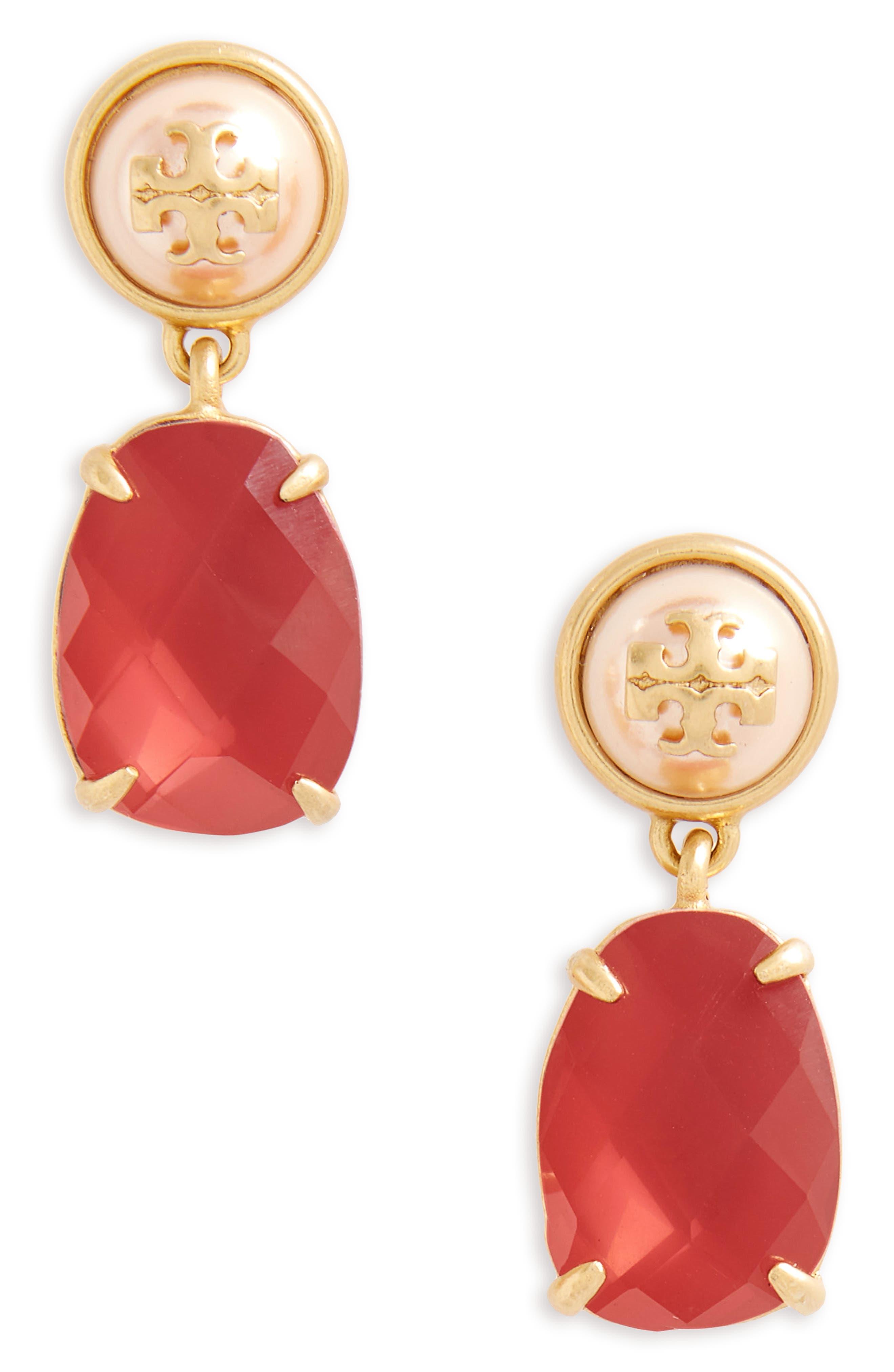 Epoxy Drop Earrings,                             Main thumbnail 5, color,