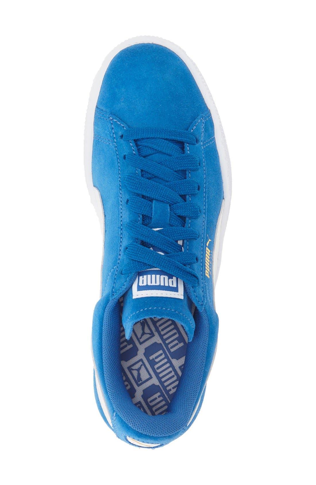 Suede Sneaker,                             Alternate thumbnail 72, color,