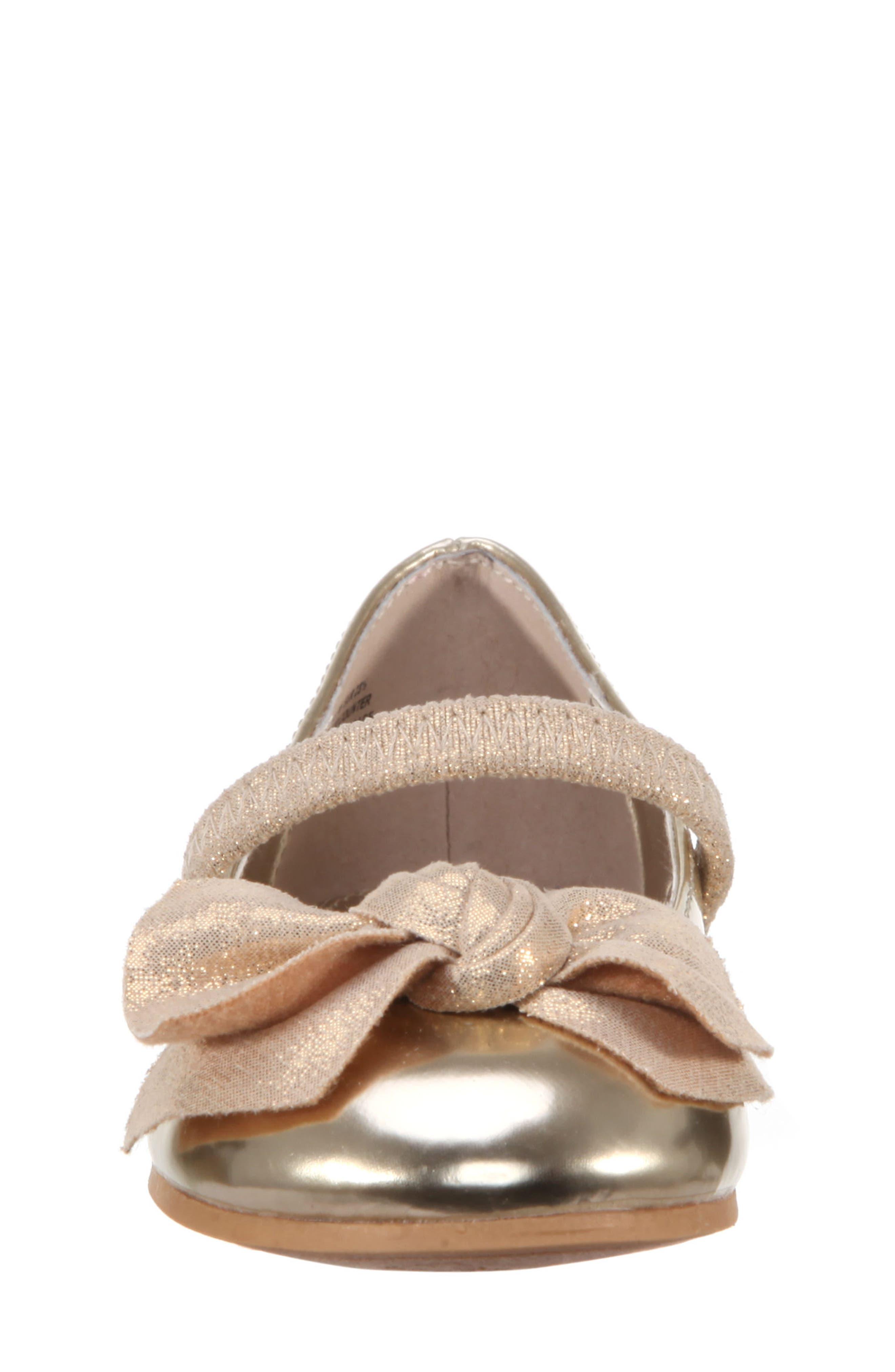 Kaytelyn-T Glitter Bow Ballet Flat,                             Alternate thumbnail 27, color,