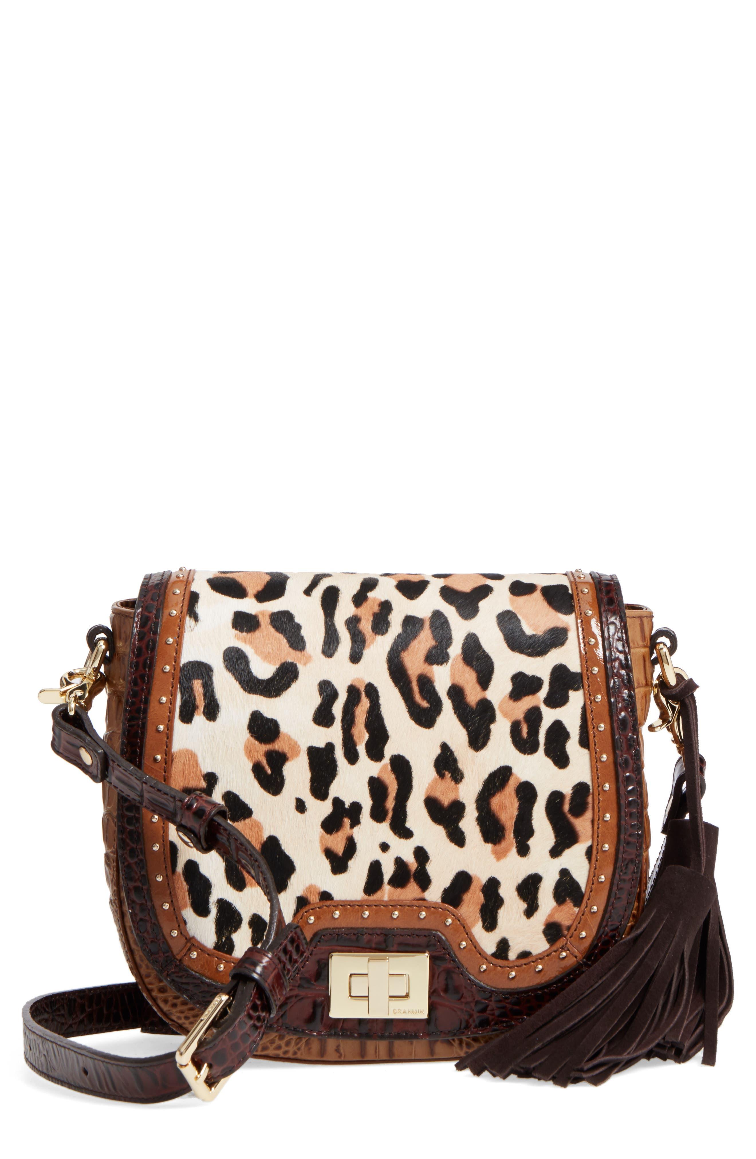 Mini Sonny Genuine Calf Hair & Leather Crossbody Bag,                         Main,                         color,