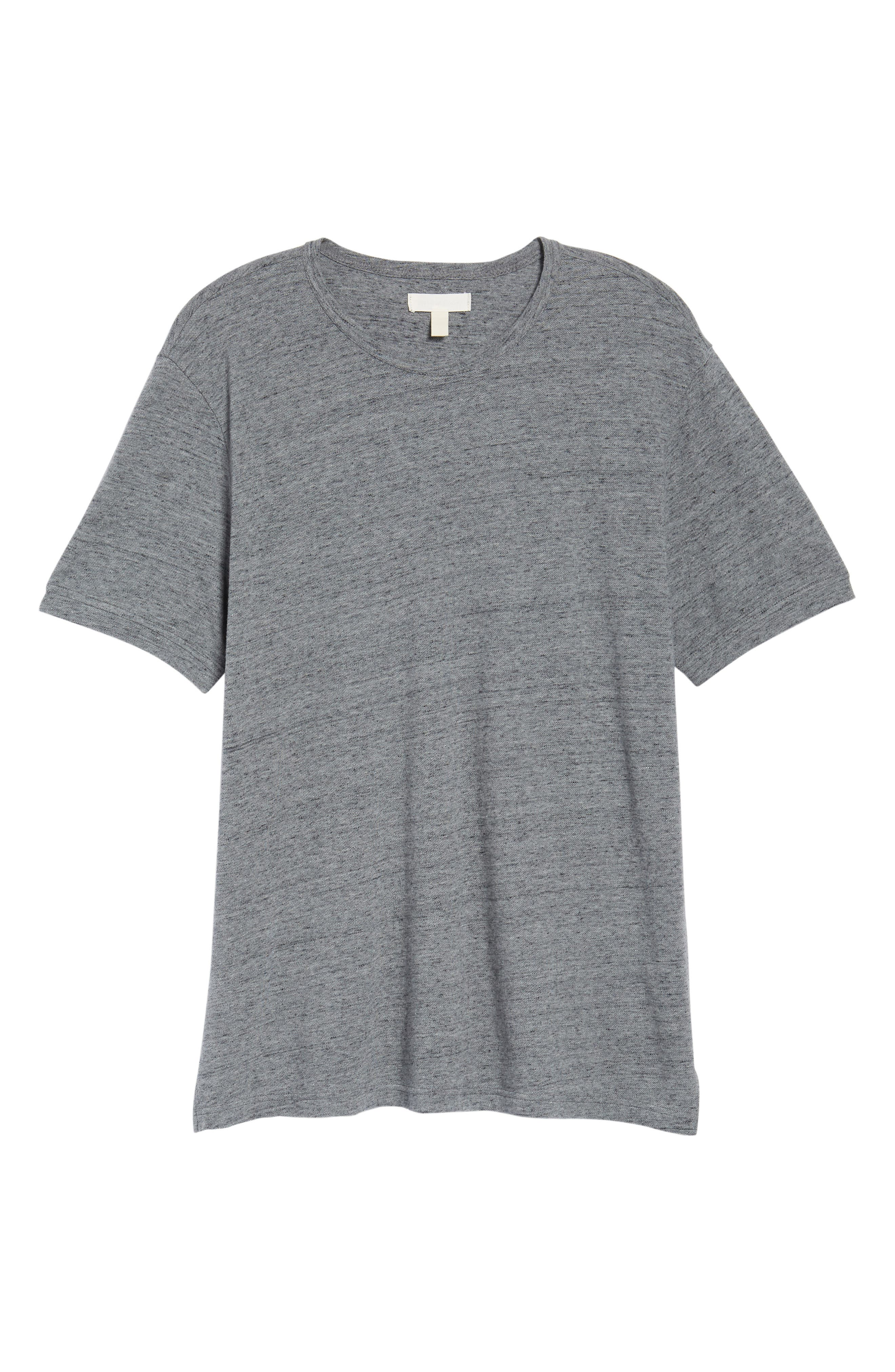THE RAIL,                             Piqué T-Shirt,                             Alternate thumbnail 6, color,                             030