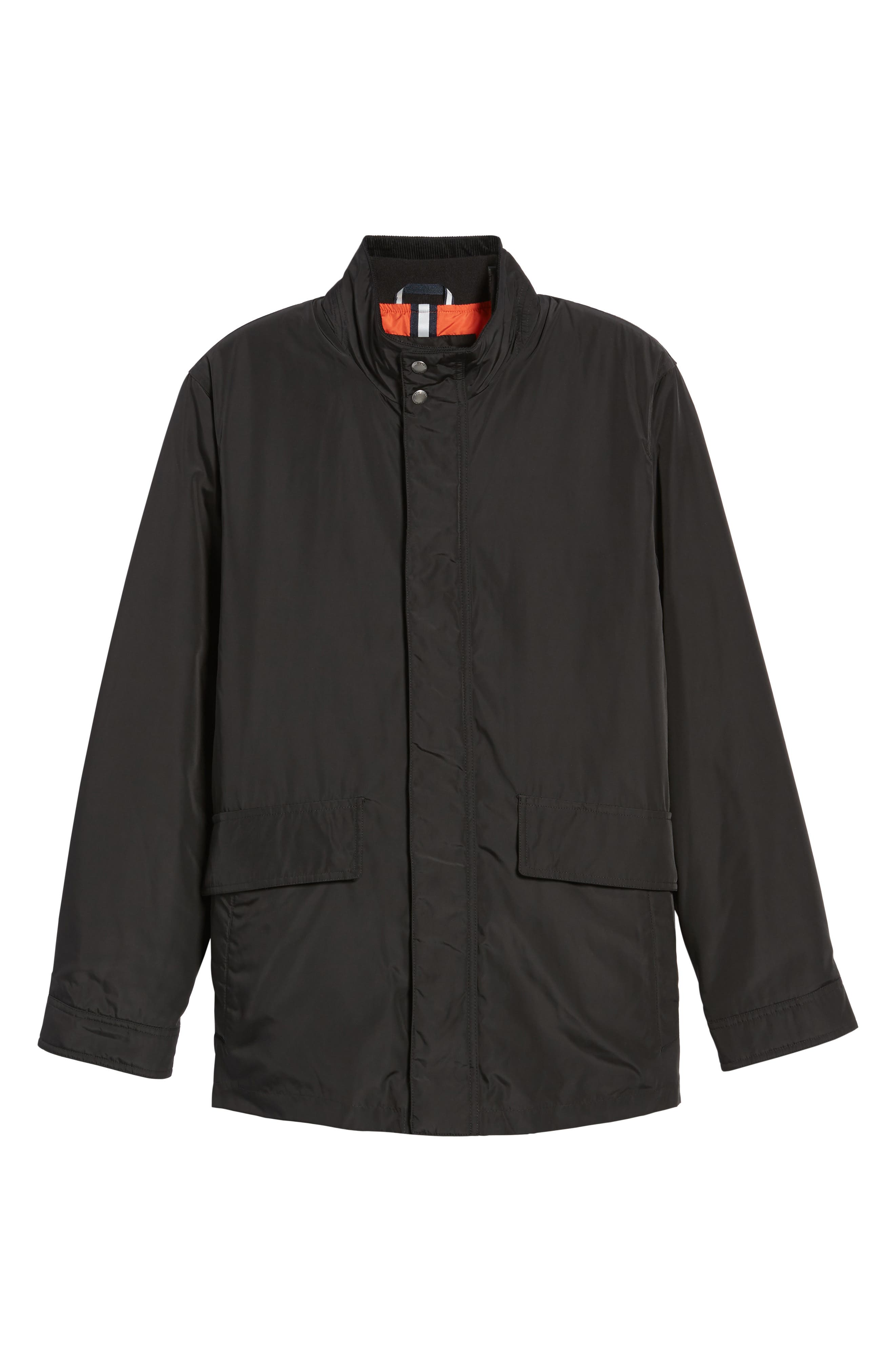 Coat with Removable Bomber Jacket,                             Alternate thumbnail 5, color,                             001