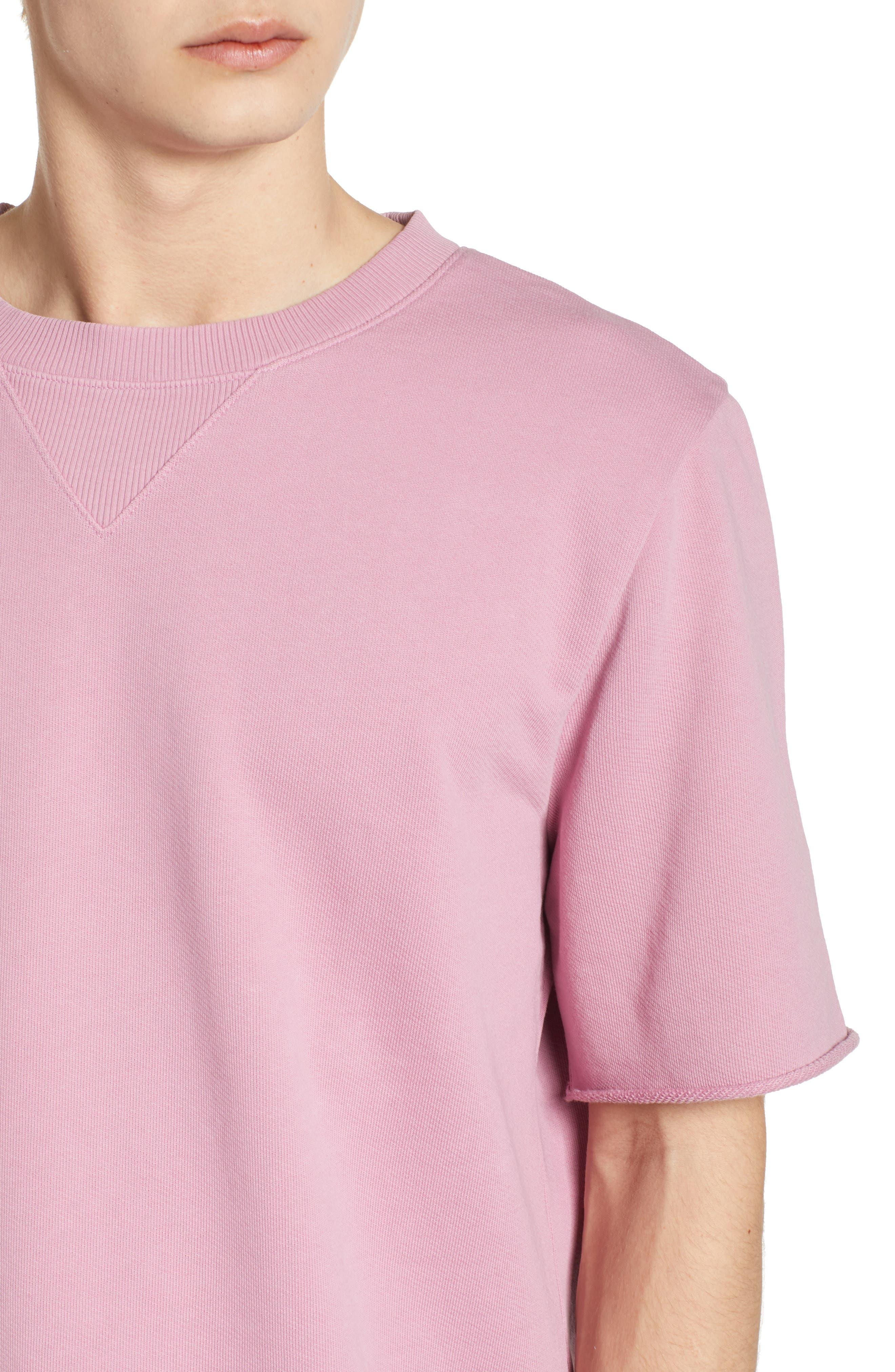 Cotton Terry Sweatshirt,                             Alternate thumbnail 8, color,