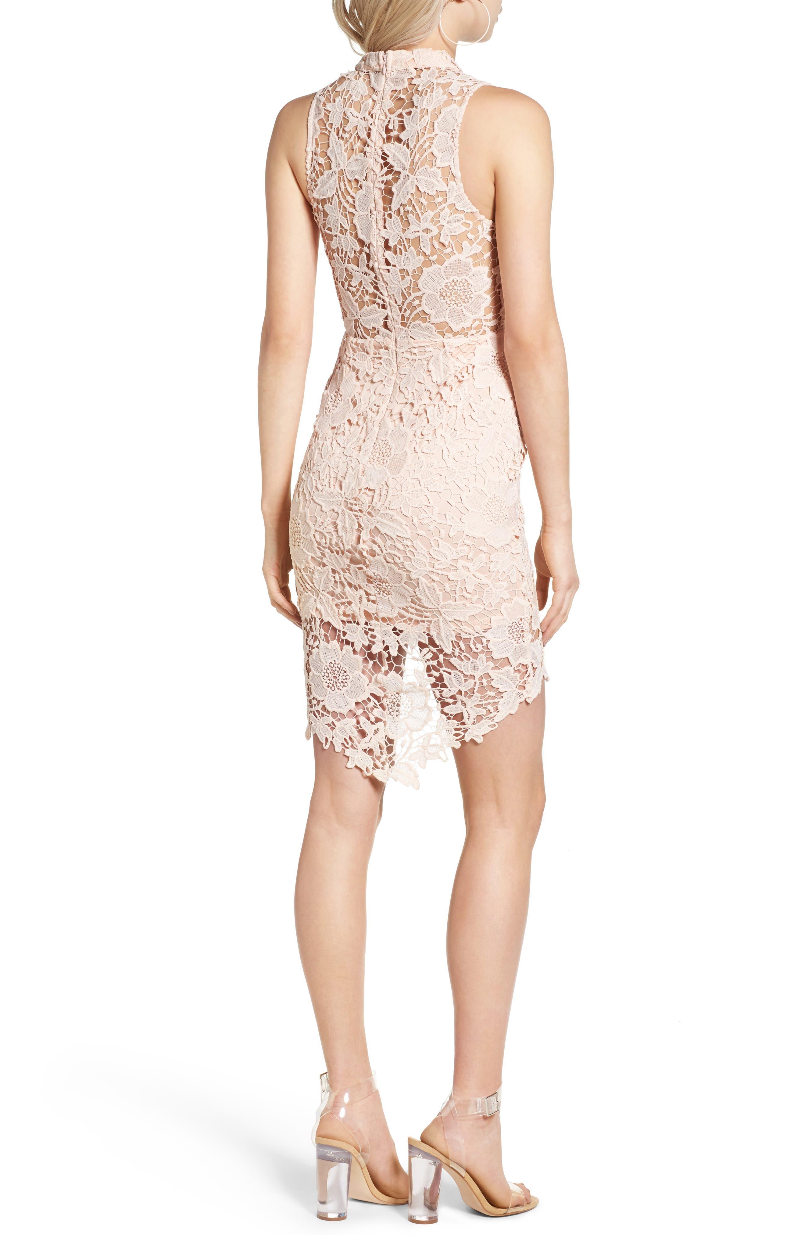 'Samantha' Lace Dress,                             Alternate thumbnail 14, color,