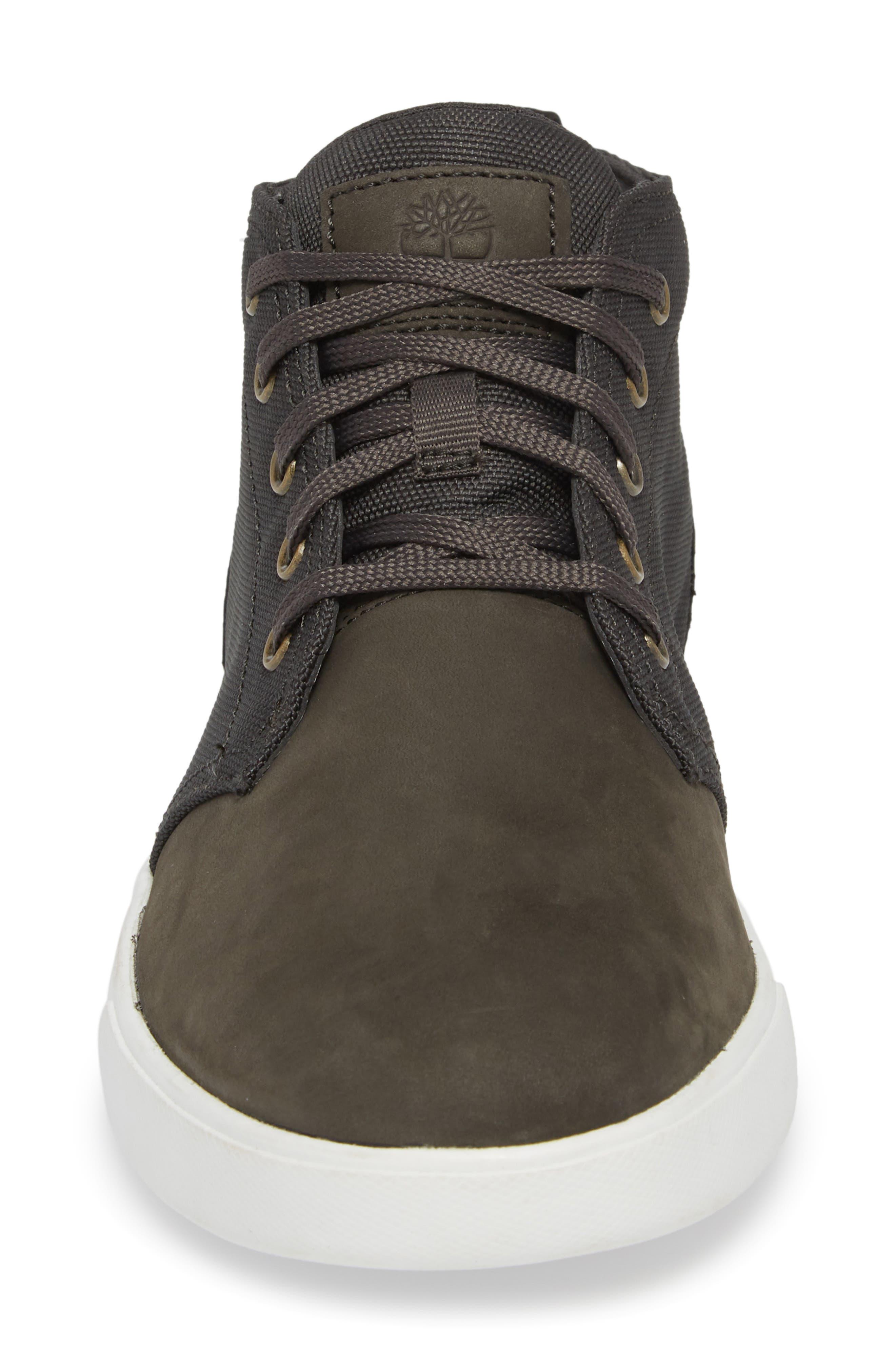 Earthkeepers<sup>™</sup> 'Groveton' Chukka Sneaker,                             Alternate thumbnail 4, color,                             DARK GREEN NUBUCK