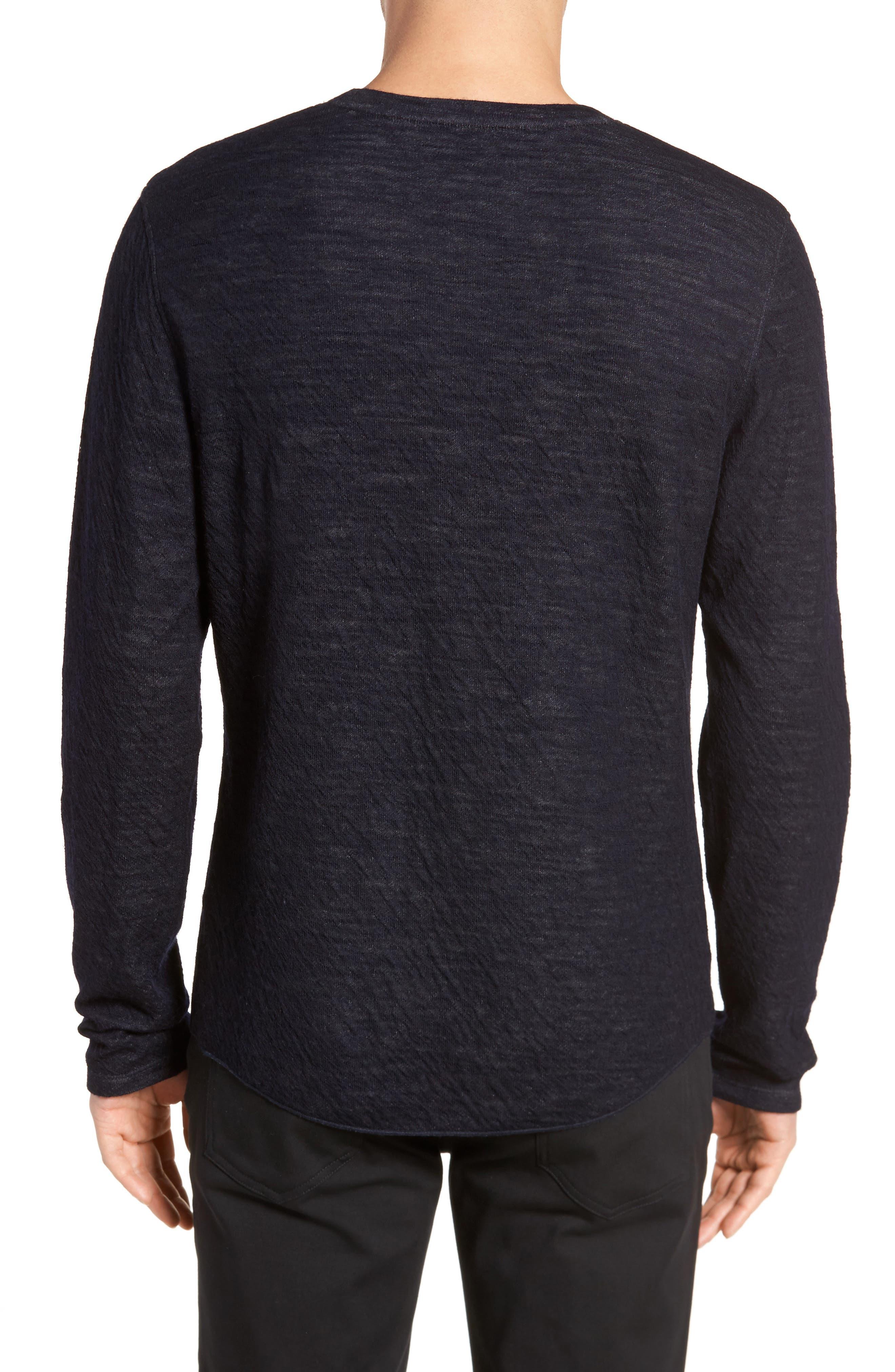 Double Knit Long Sleeve Shirt,                             Alternate thumbnail 4, color,