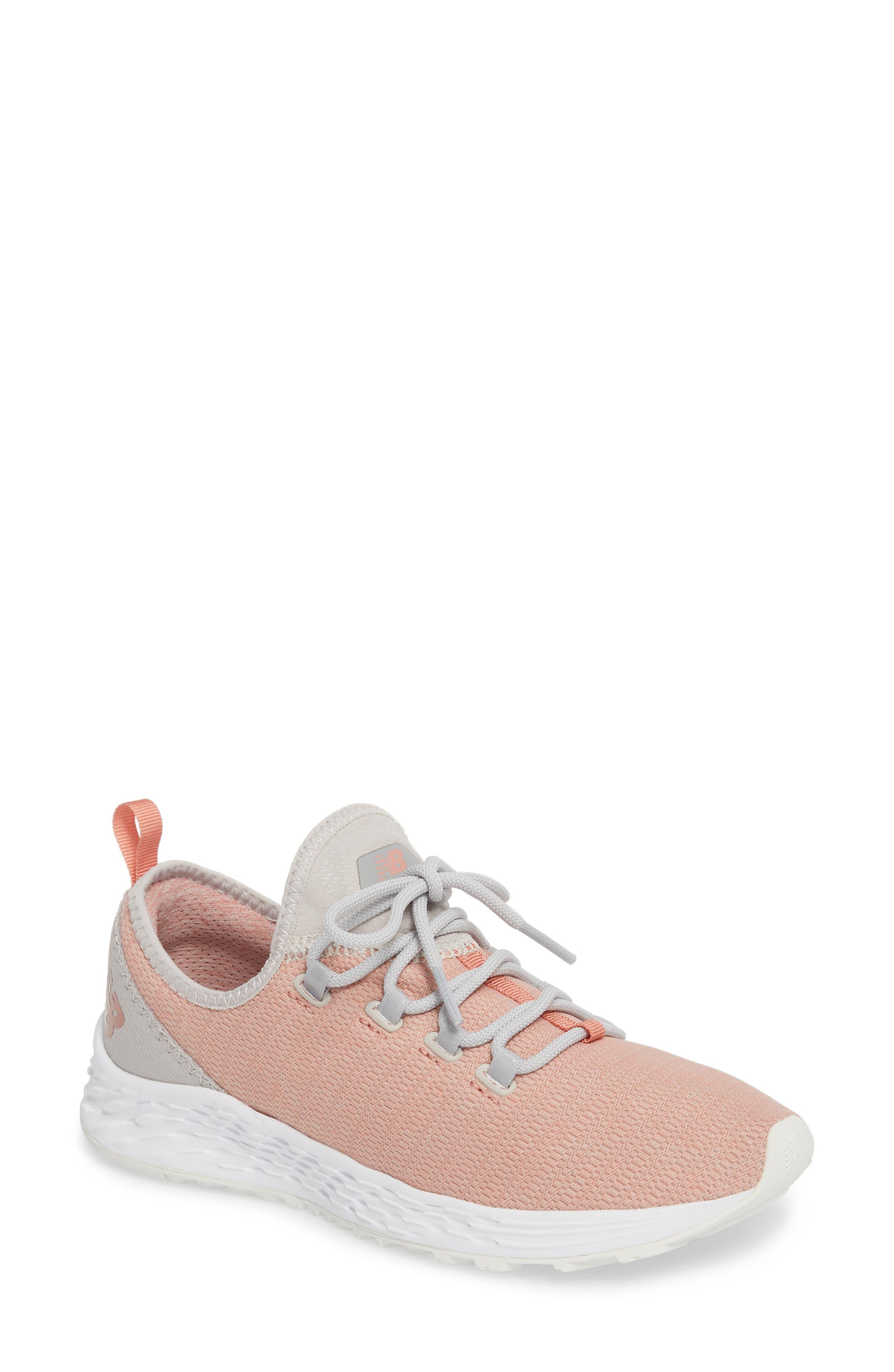 Fresh Foam Arishi Running Shoe,                         Main,                         color, DUSTED PEACH
