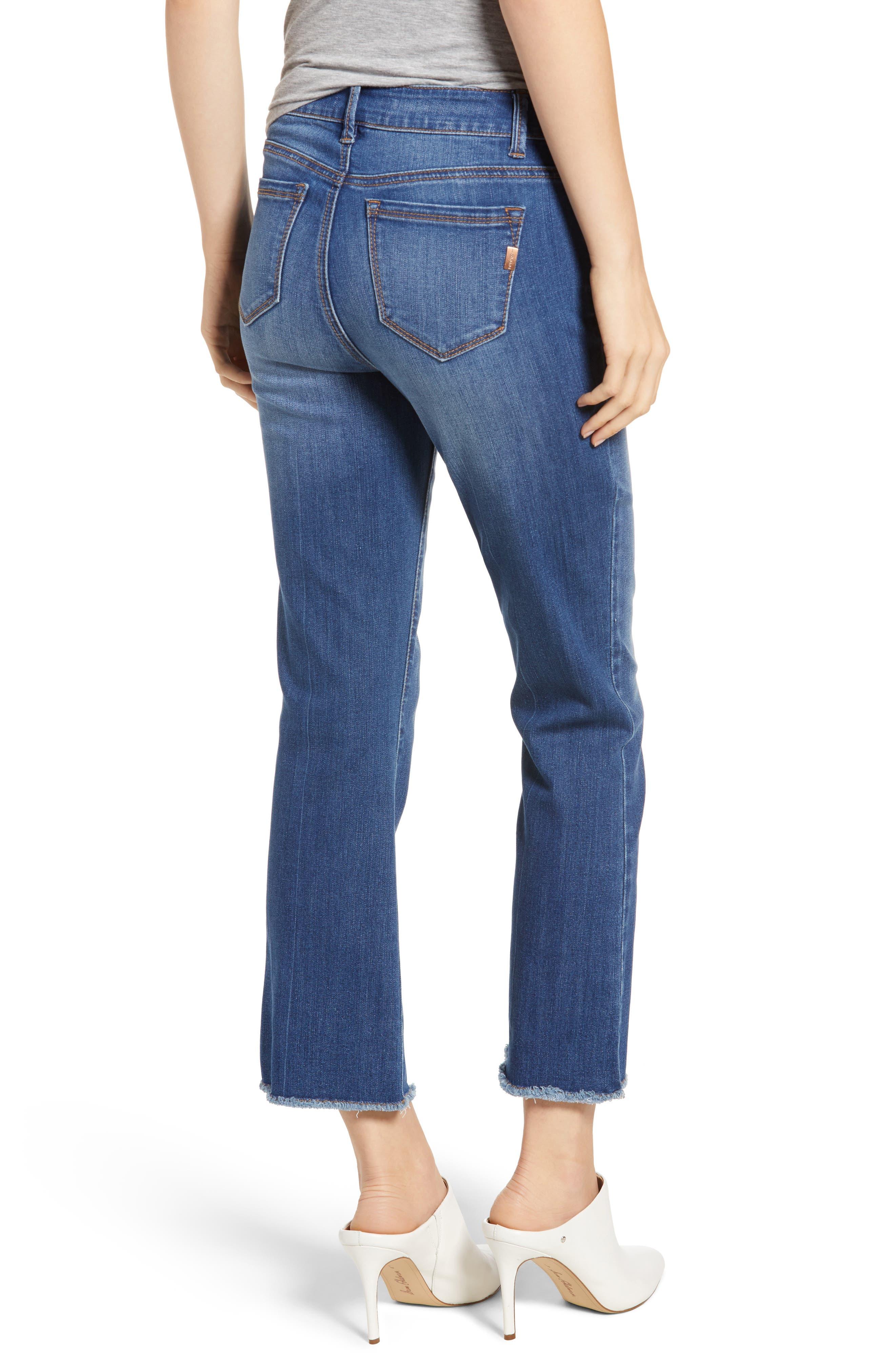 Crop Bootcut Jeans,                             Alternate thumbnail 2, color,                             TESSA