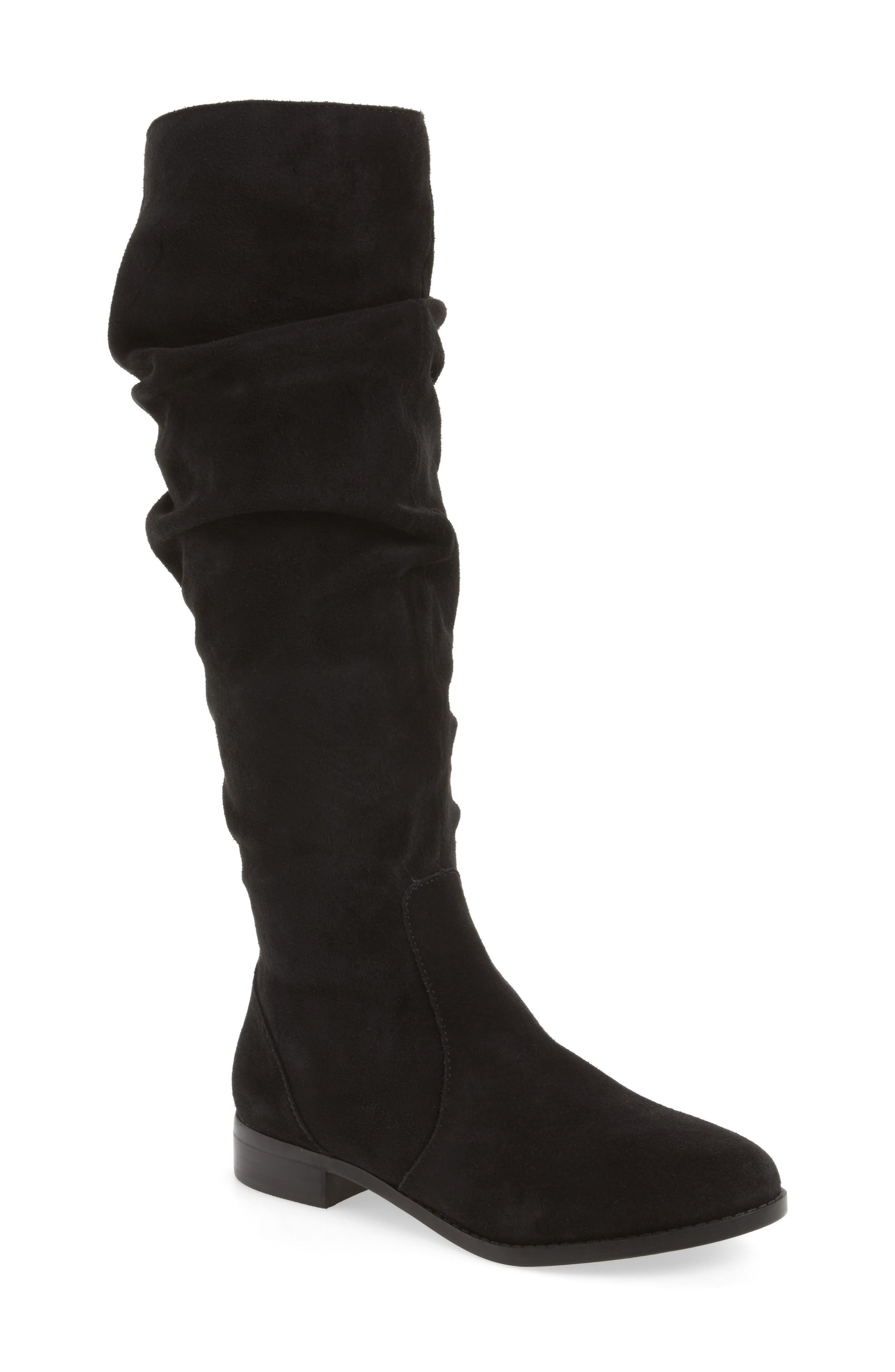 Steve Maddon Beacon Slouchy Knee-High Boot,                             Main thumbnail 1, color,                             006