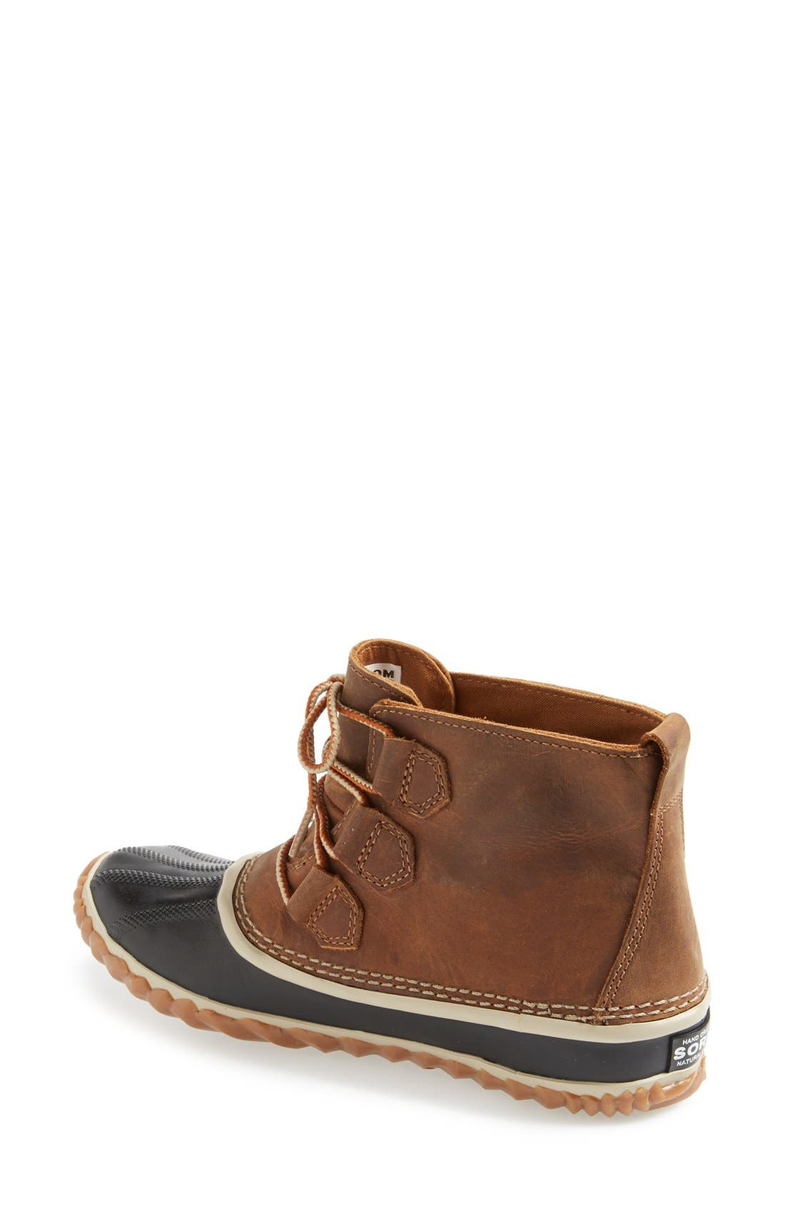 'Out N About' Leather Boot,                             Alternate thumbnail 14, color,