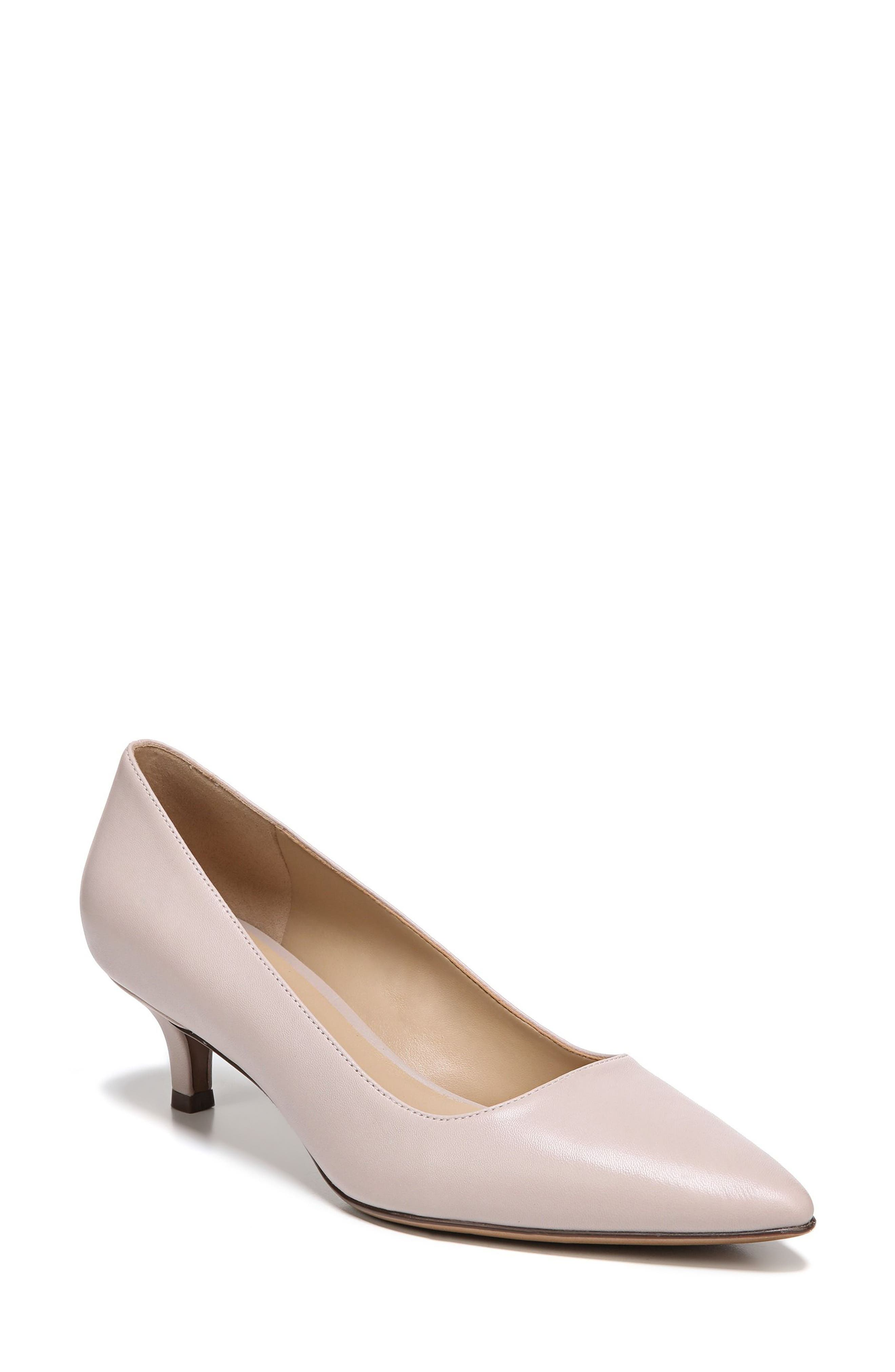 Pippa Pump,                         Main,                         color, GREY LEATHER