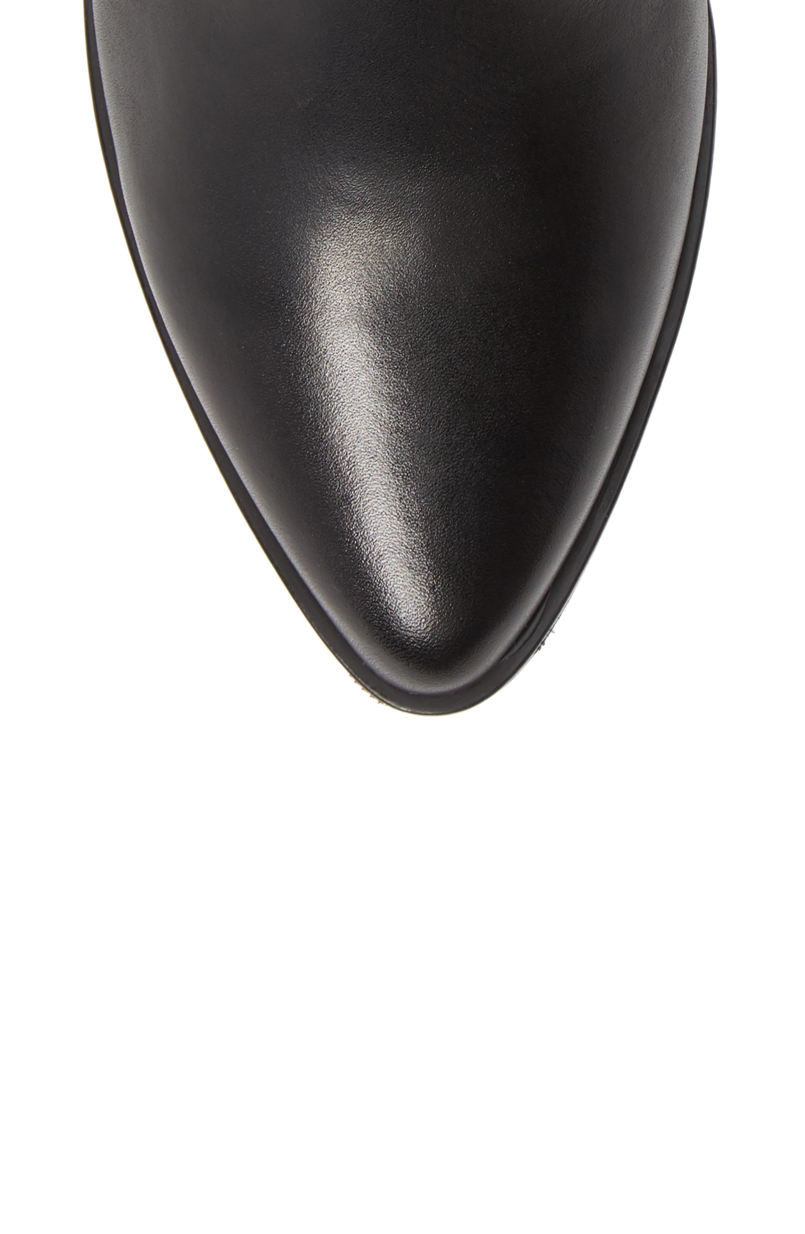 VAGABOND,                             Shoemakers Lara Bootie,                             Alternate thumbnail 5, color,                             BLACK LEATHER