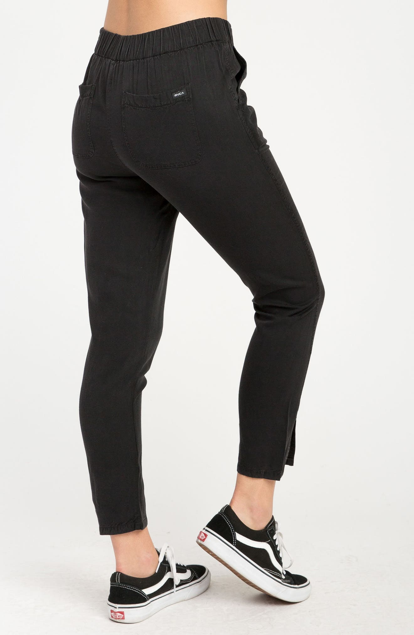 Chill Vibes Ankle Pants,                             Alternate thumbnail 7, color,                             001