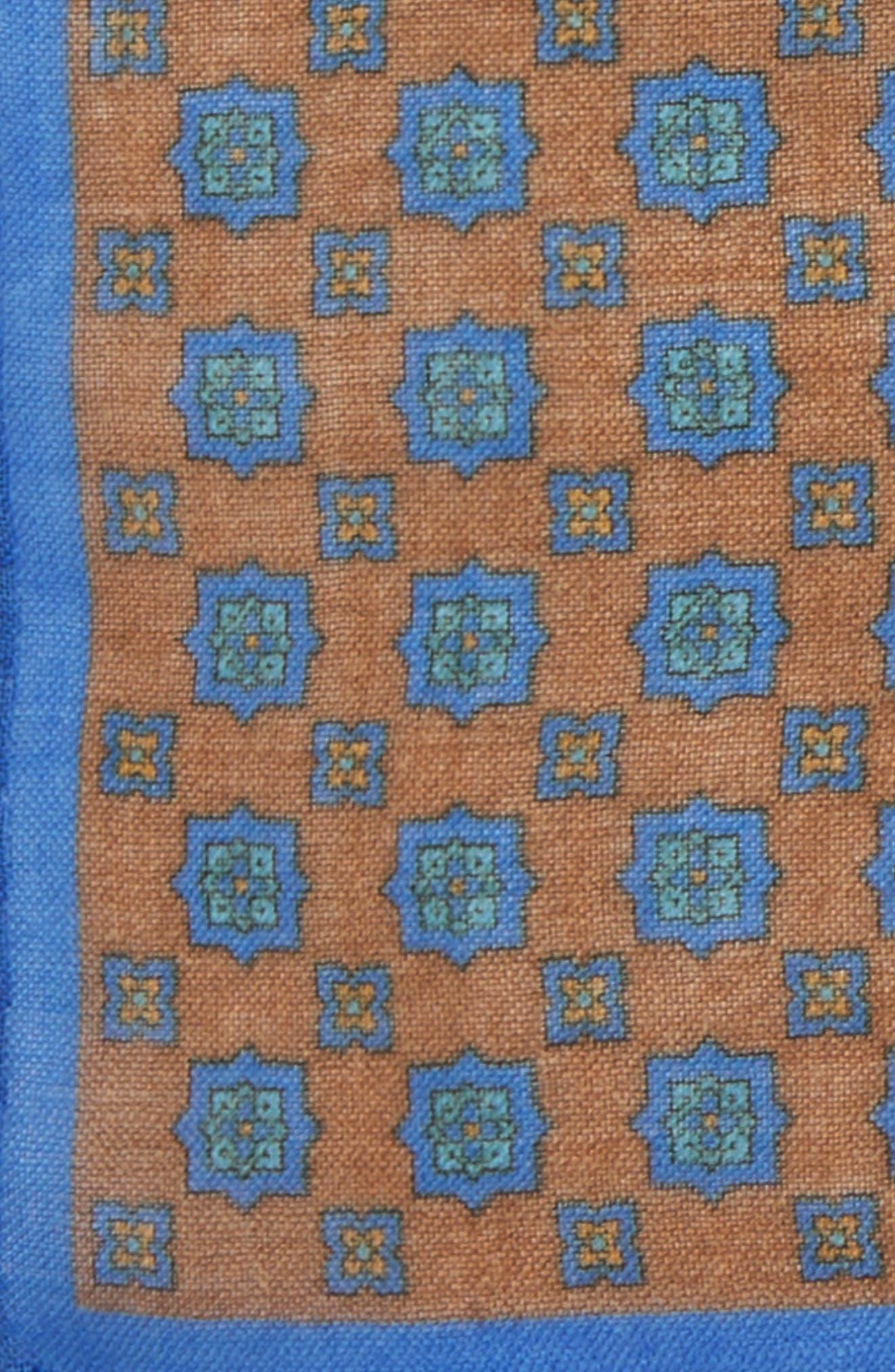 Medallion Pocket Square,                             Alternate thumbnail 12, color,