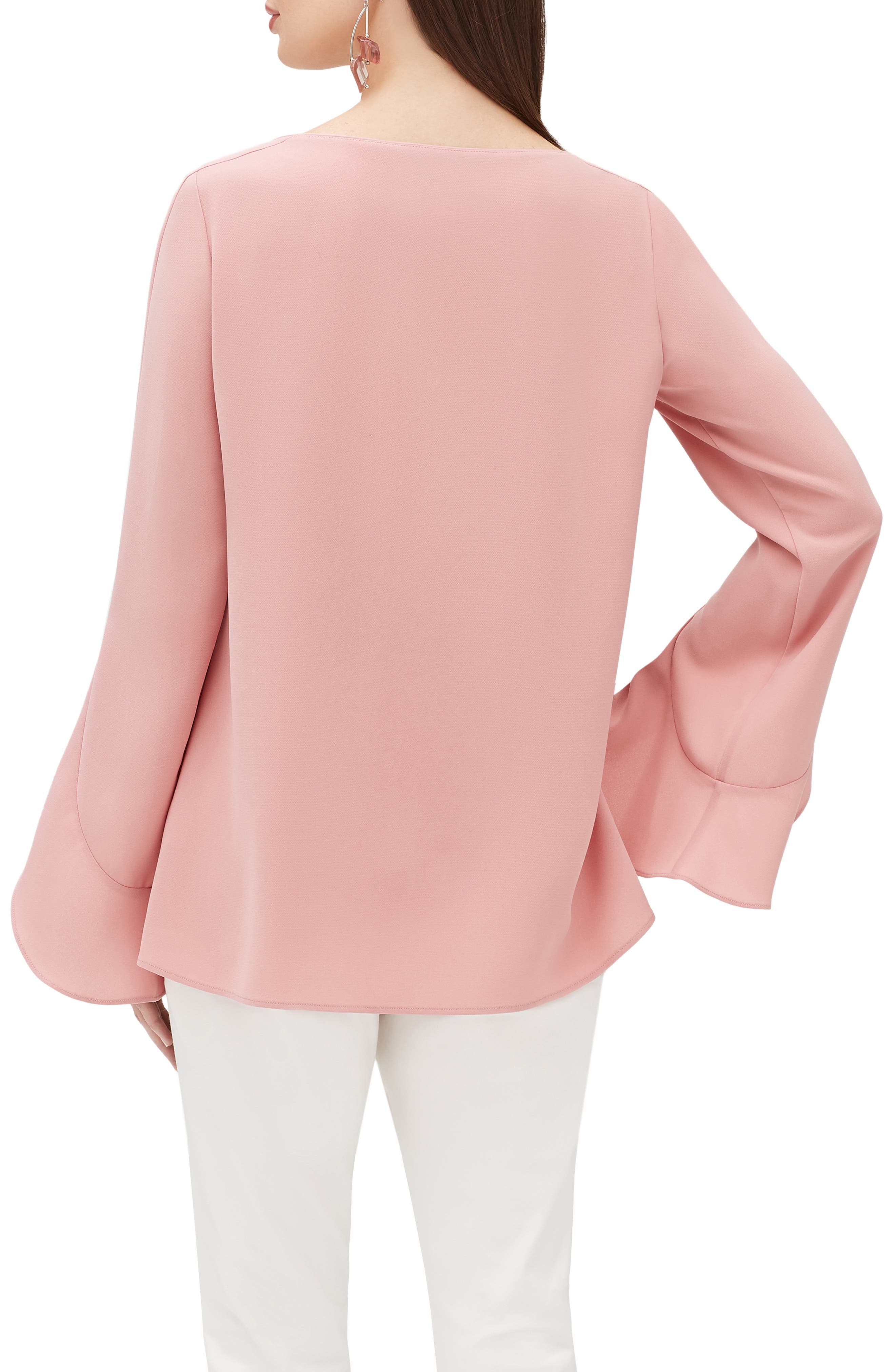 LAFAYETTE 148 NEW YORK,                             Emory Finesse Crepe Blouse,                             Alternate thumbnail 2, color,                             650