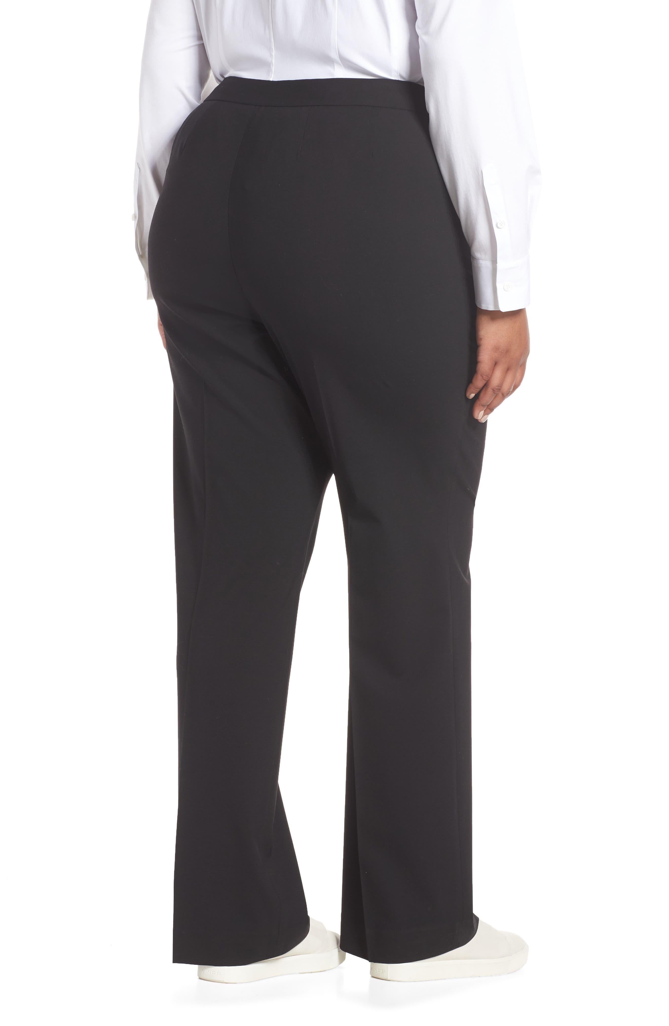 Menswear Trousers,                             Alternate thumbnail 3, color,                             BLACK