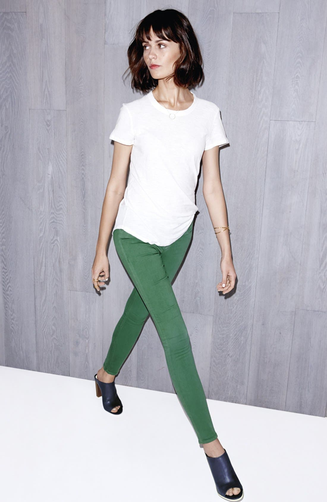 'Nico' Skinny Stretch Jeans,                             Main thumbnail 1, color,                             002