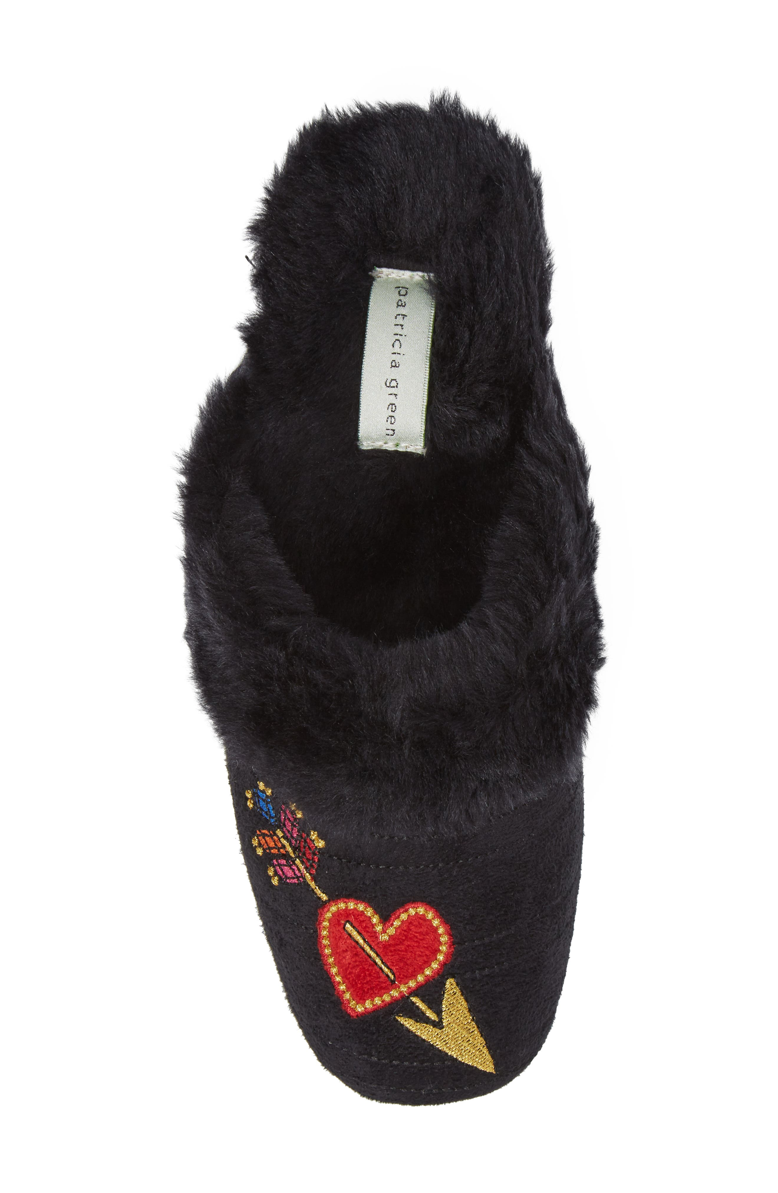Heart & Arrow Slipper,                             Alternate thumbnail 5, color,                             001