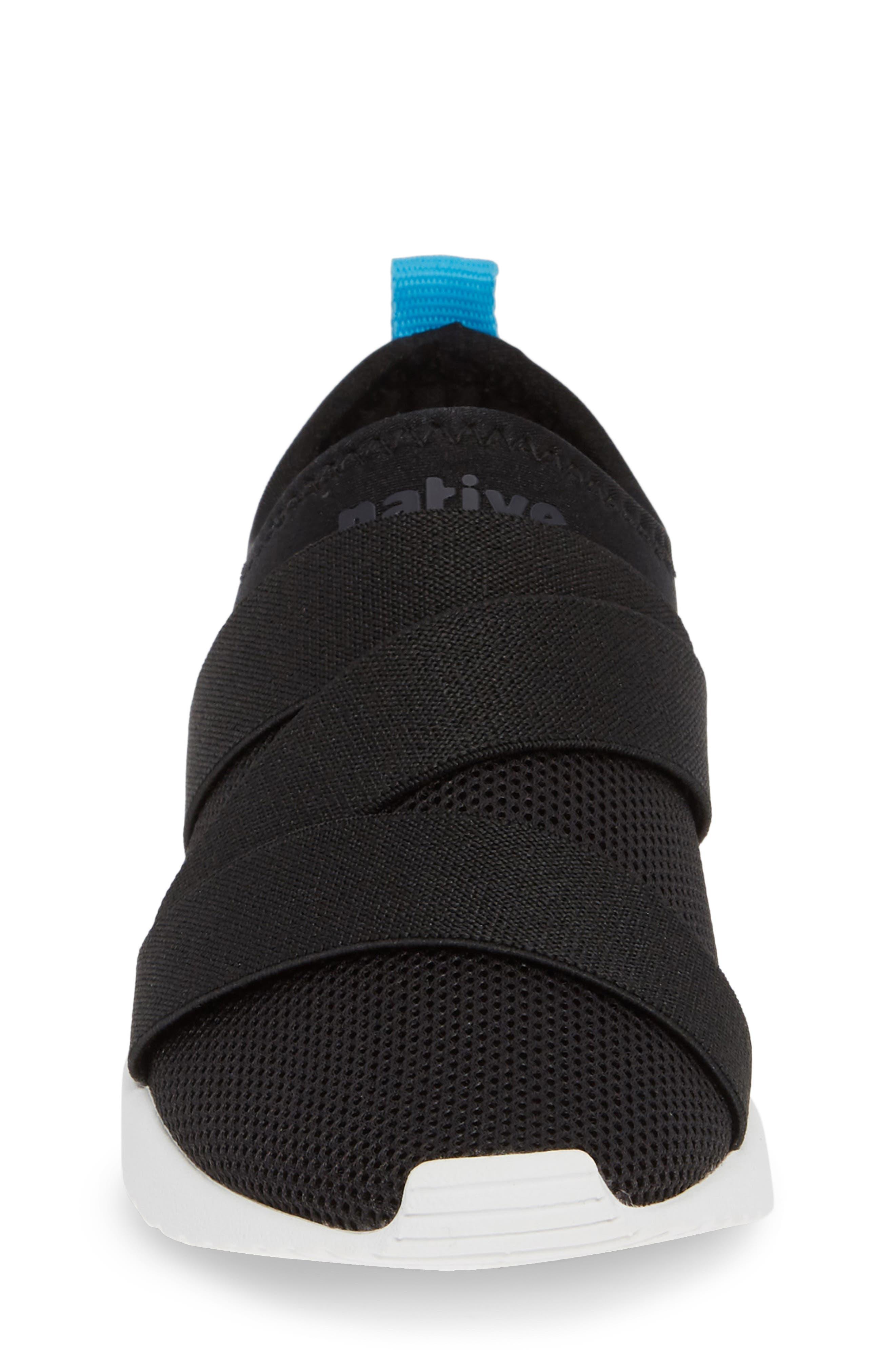 Phoenix Slip-On Sneaker,                             Alternate thumbnail 4, color,                             JIFFY BLACK/ SHELL WHITE