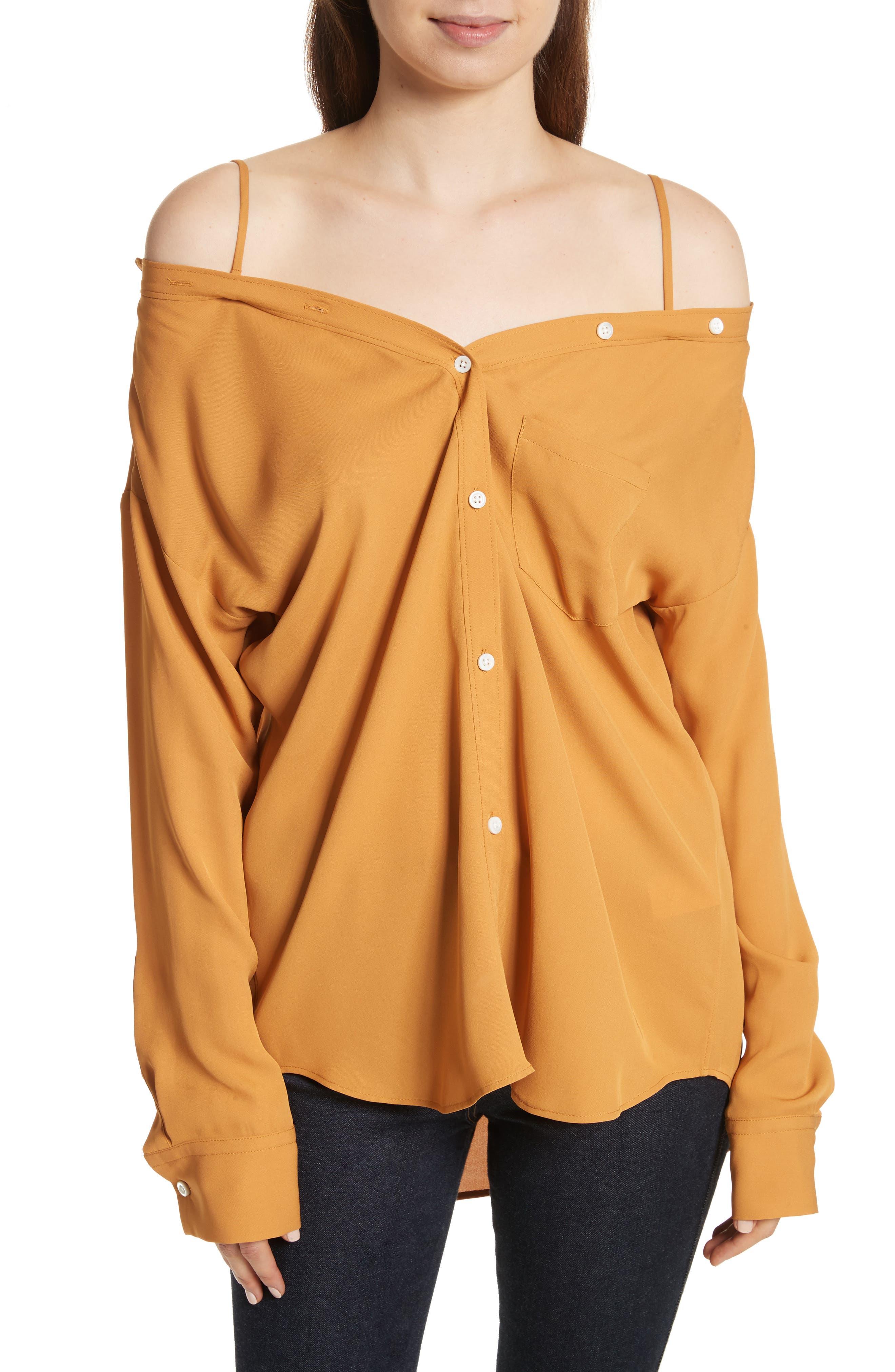 Tamalee Silk Shirt,                             Main thumbnail 3, color,
