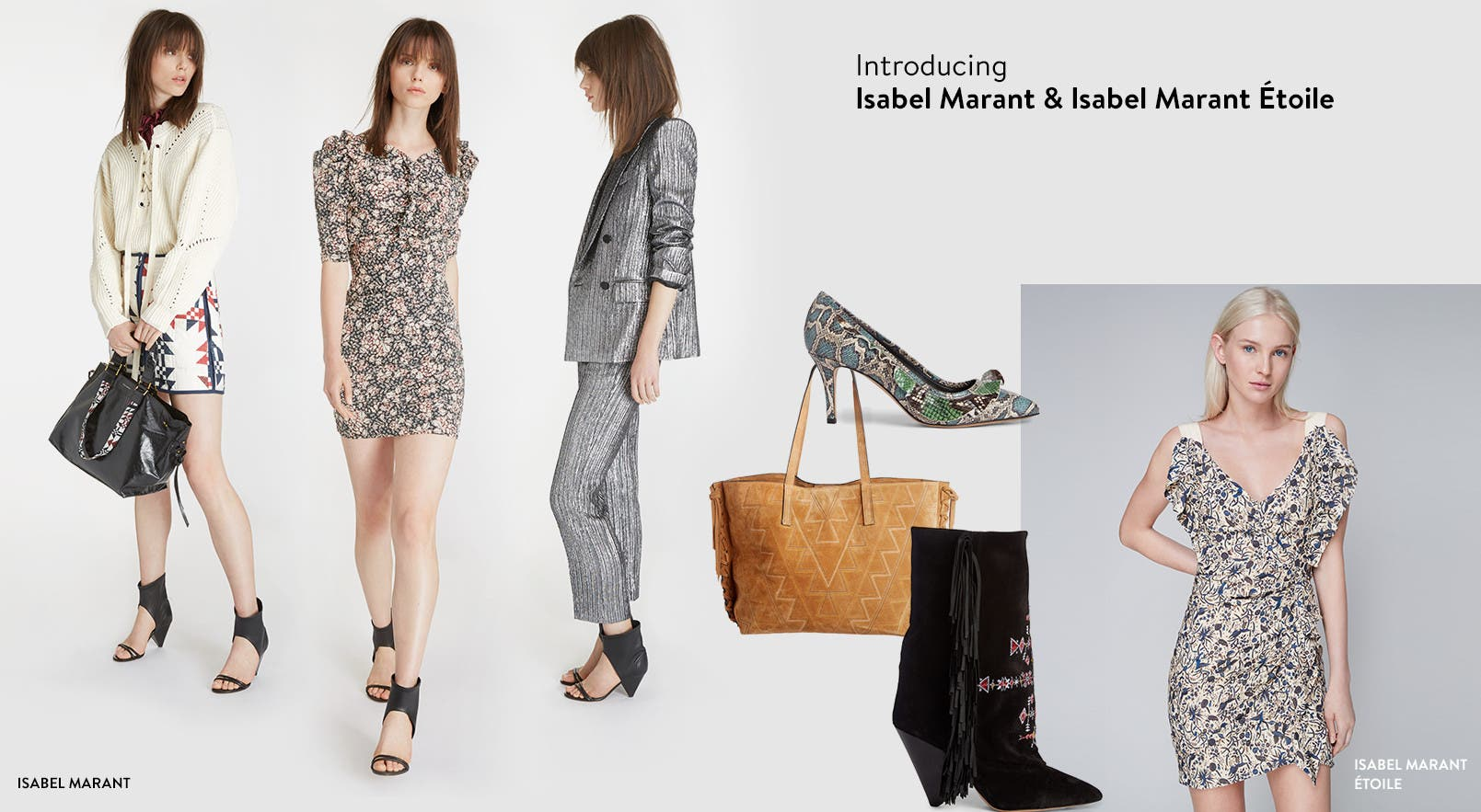 Introducing Isabel Marant and Isabel Marant Étoile shoes, handbags and clothing.