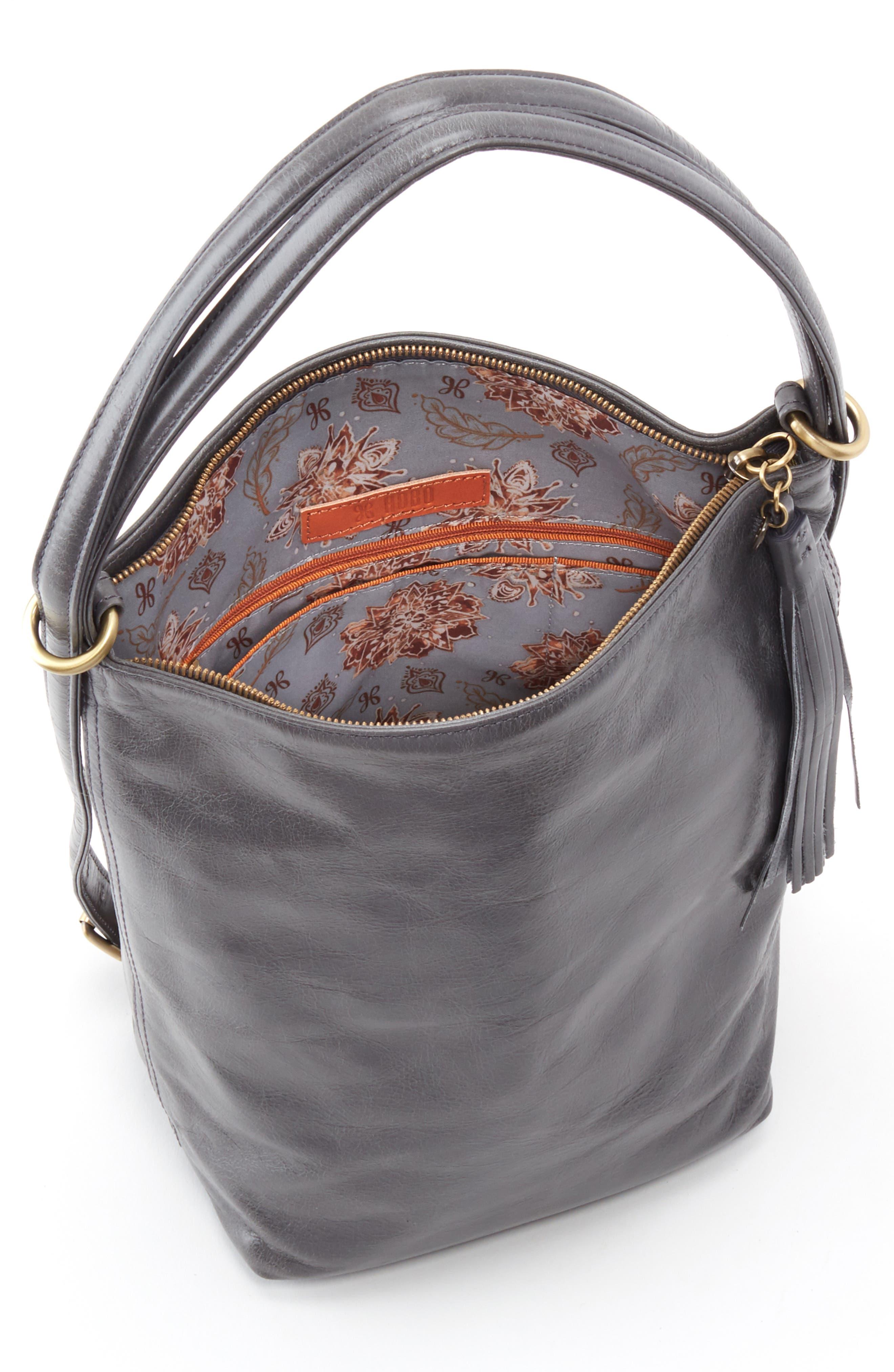 Blaze Convertible Shoulder Bag,                             Alternate thumbnail 4, color,                             GRAPHITE