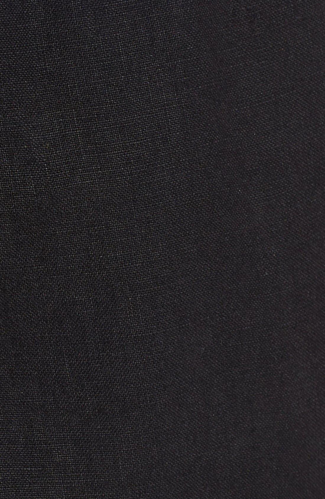 Vilbrequin Linen Cargo Shorts,                             Alternate thumbnail 5, color,                             001