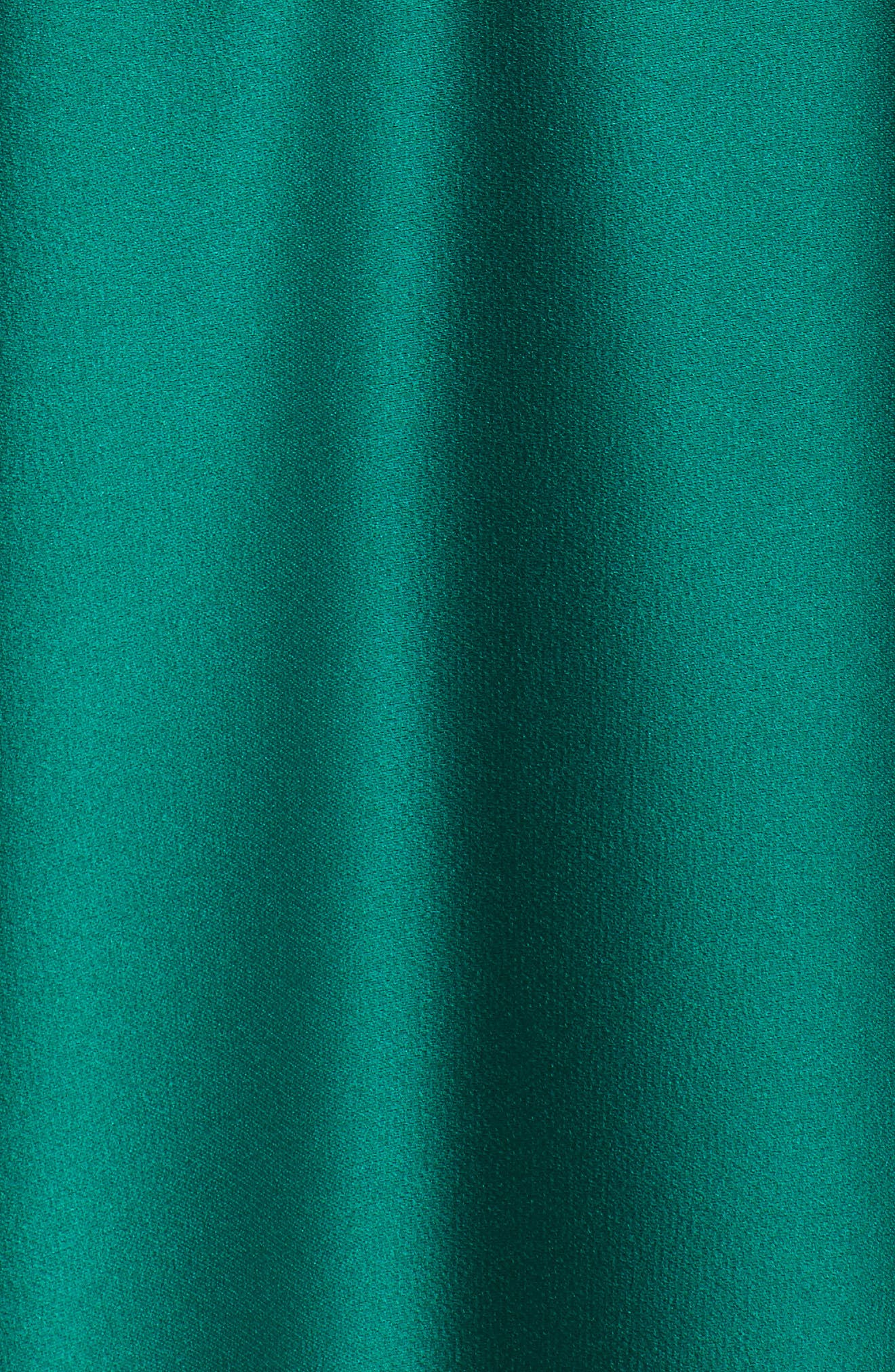 Mikado Off the Shoulder Gown,                             Alternate thumbnail 5, color,                             EMERALD