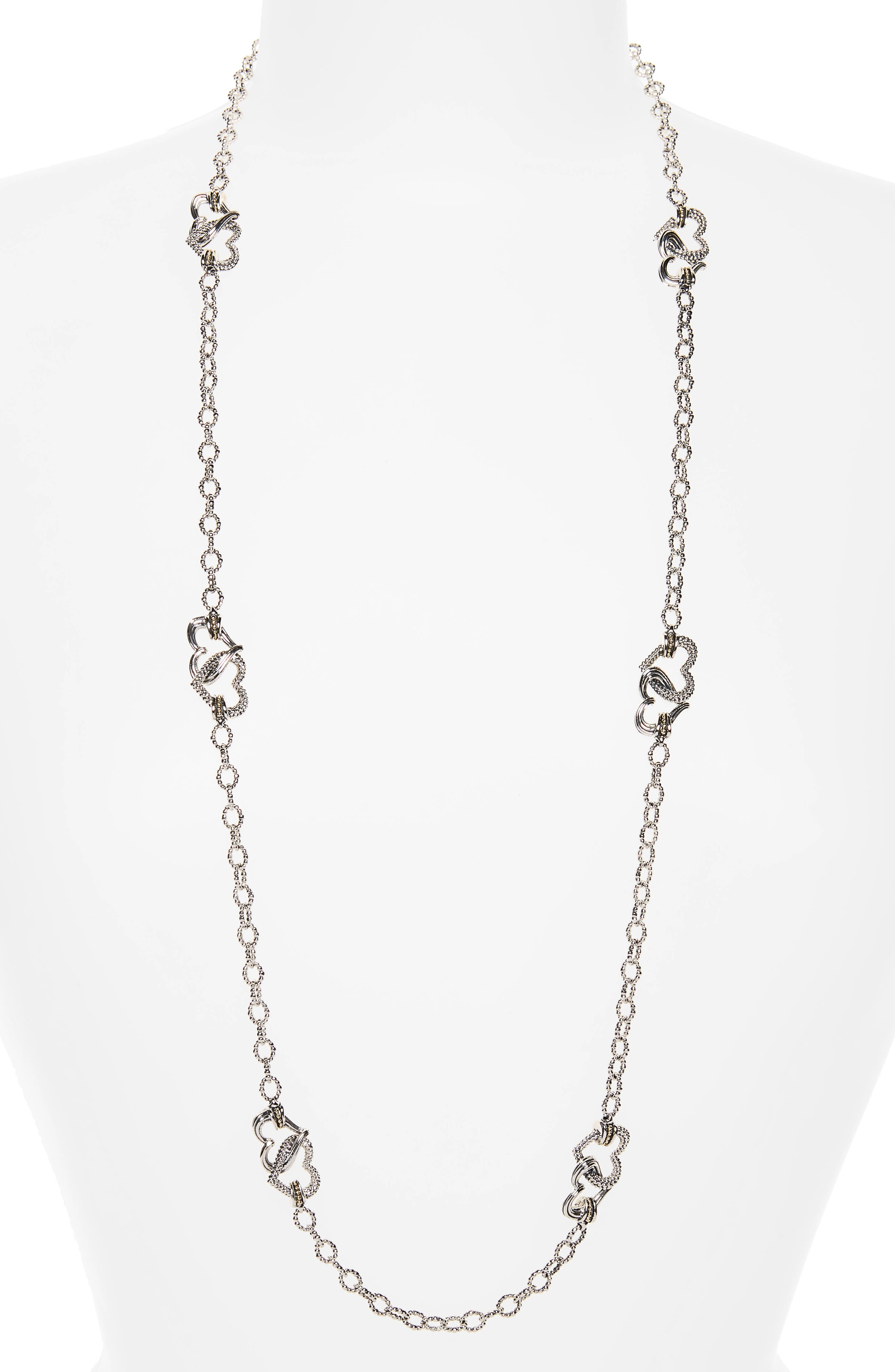 Beloved Long Link Necklace,                             Main thumbnail 1, color,                             040