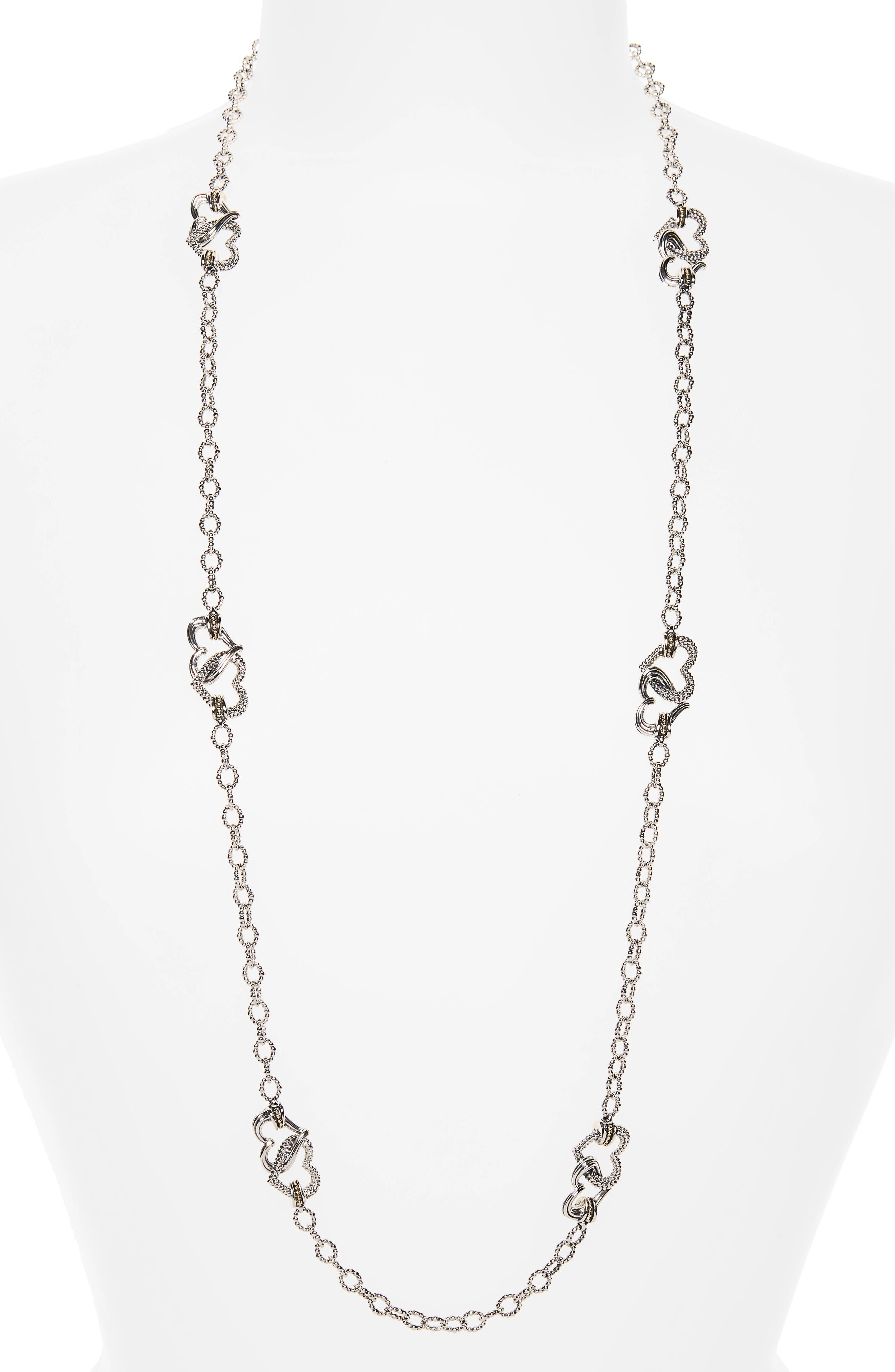 Beloved Long Link Necklace,                         Main,                         color, 040