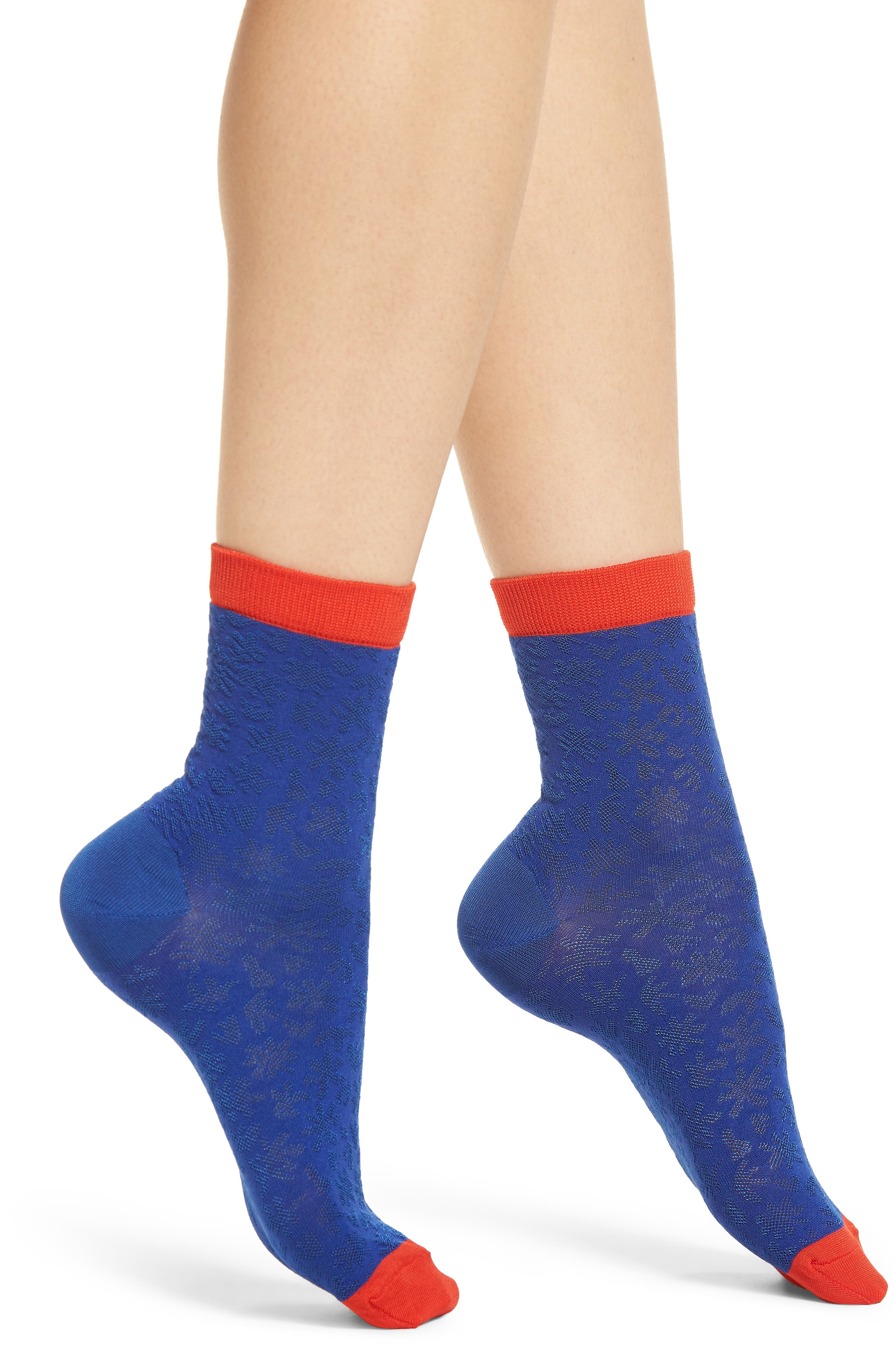 Lotta Ankle Socks,                         Main,                         color, BLUE