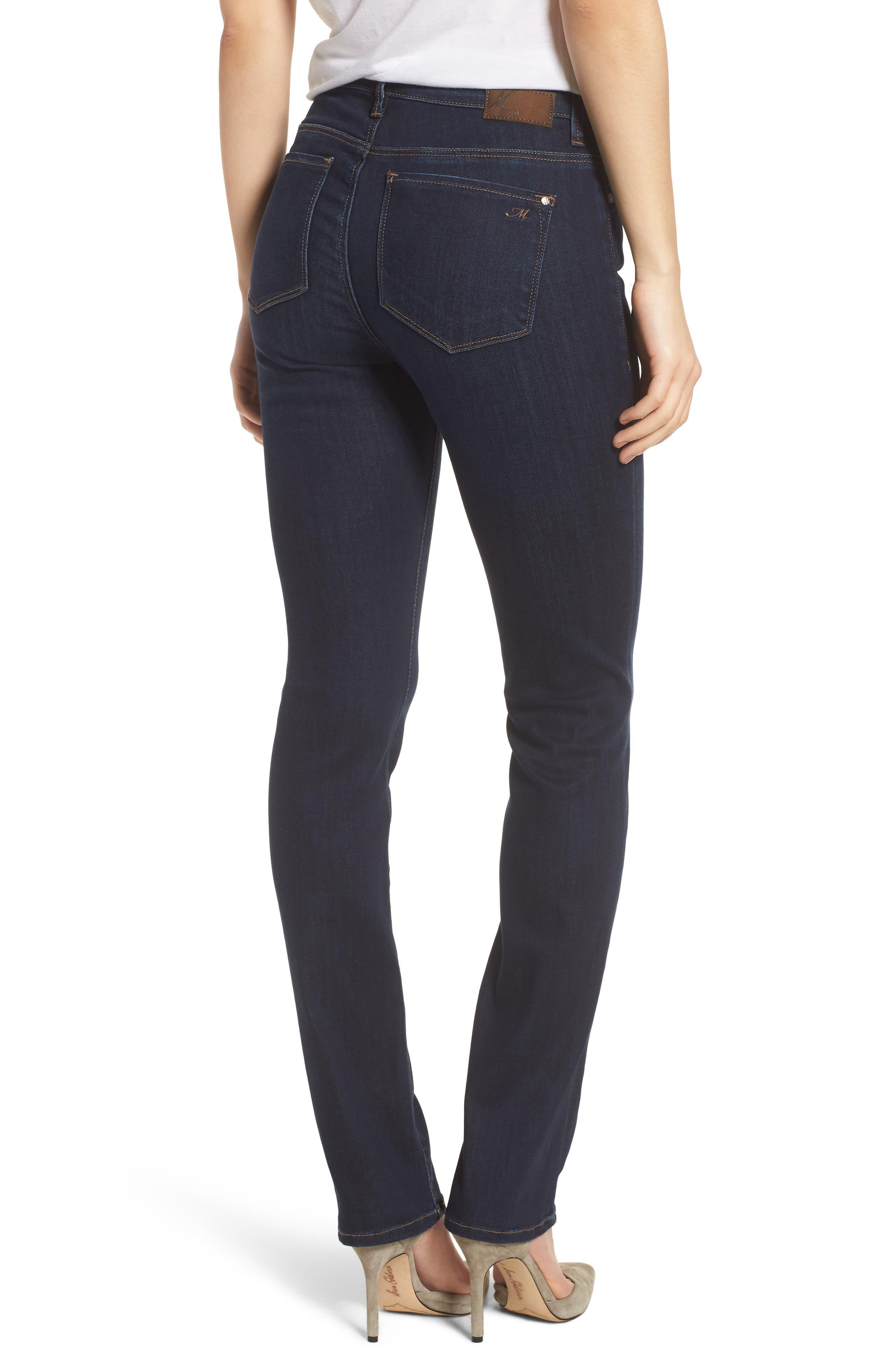 Kendra Straight Leg Jeans,                             Alternate thumbnail 2, color,                             DEEP SUPERSOFT
