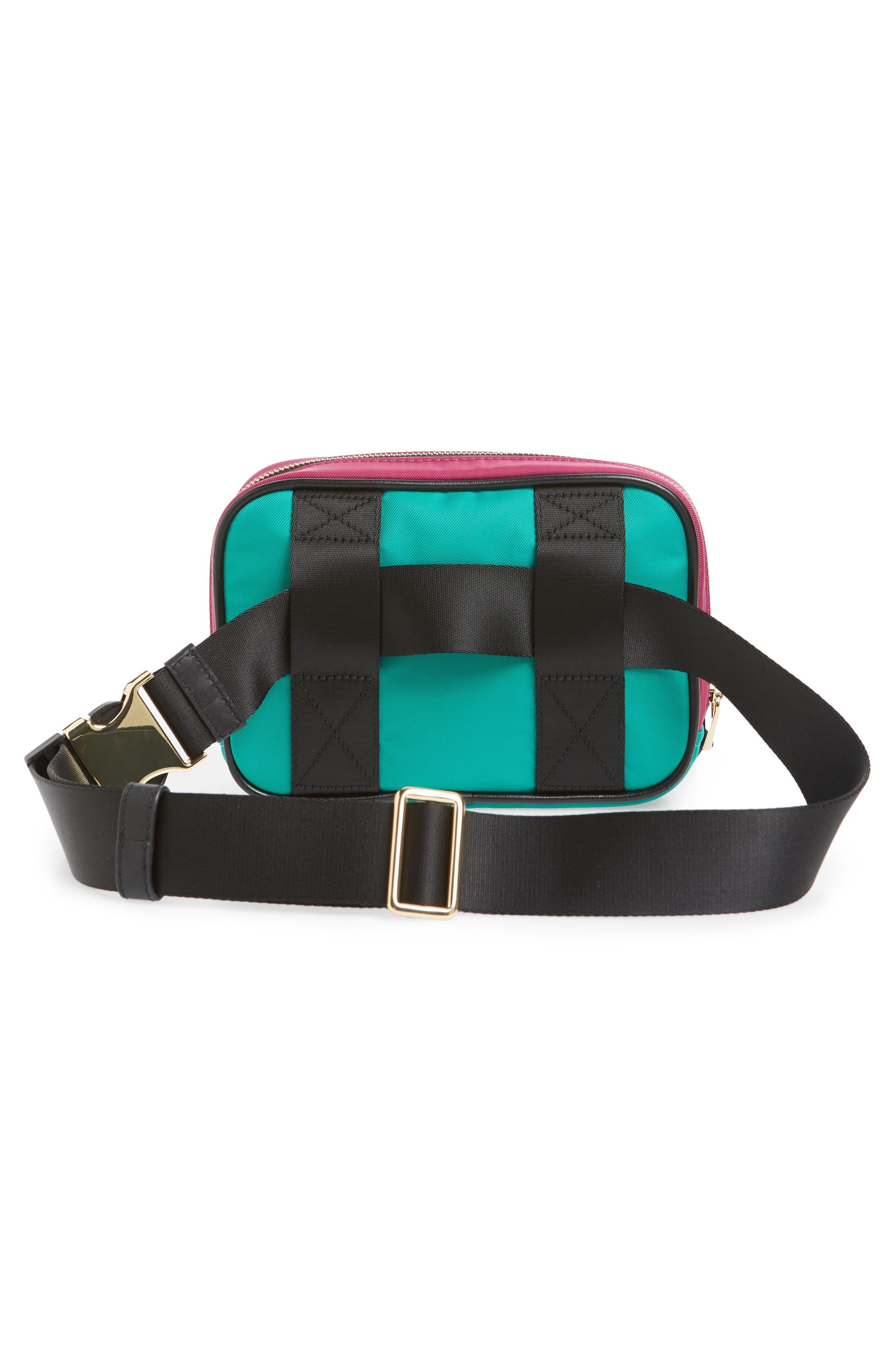 Sport Belt Bag,                             Alternate thumbnail 4, color,                             MAGENTA MULTI