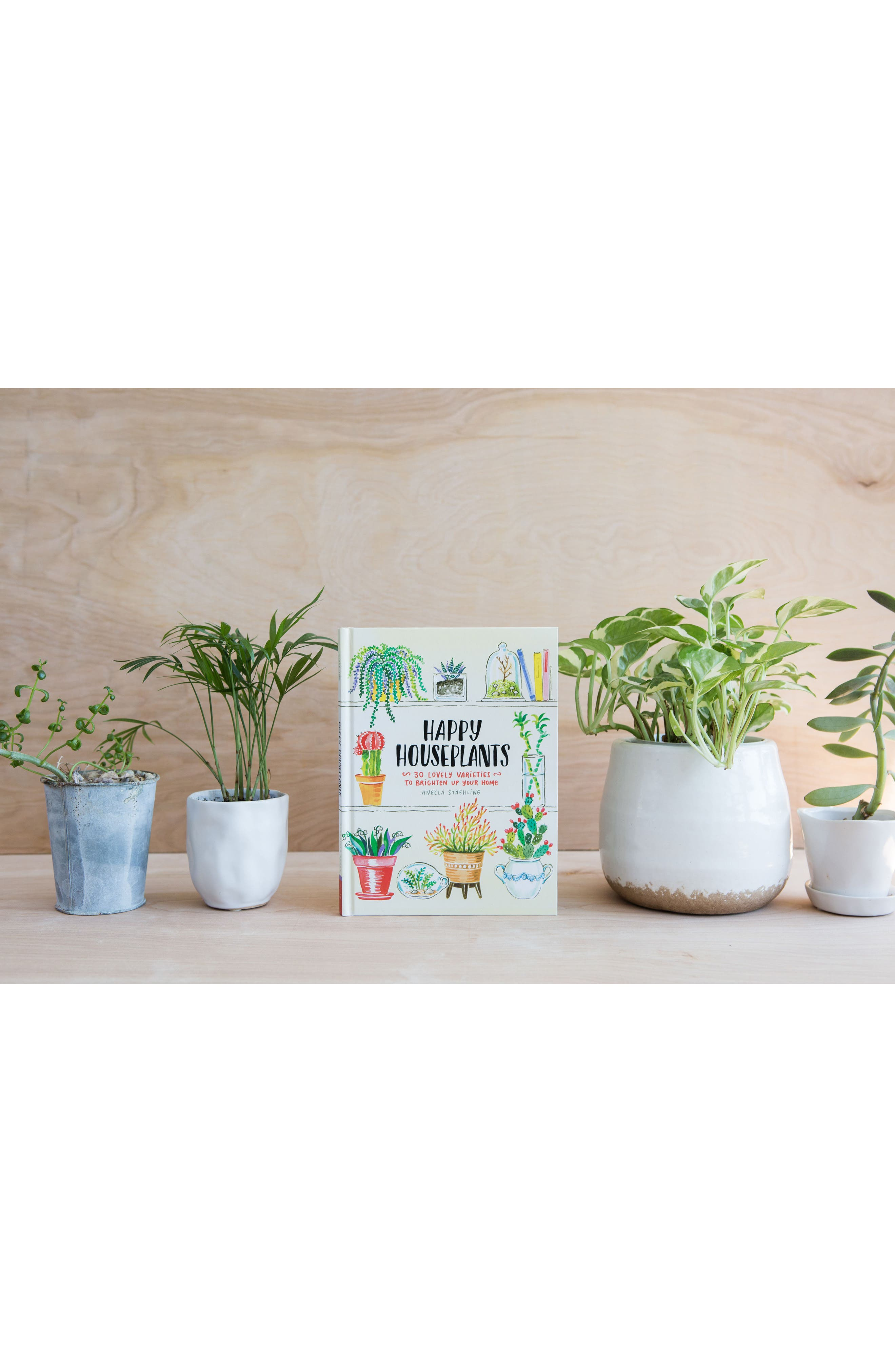 'Happy Houseplants: 30 Lovely Varieties to Brighten Up Your Home' Book,                             Alternate thumbnail 4, color,