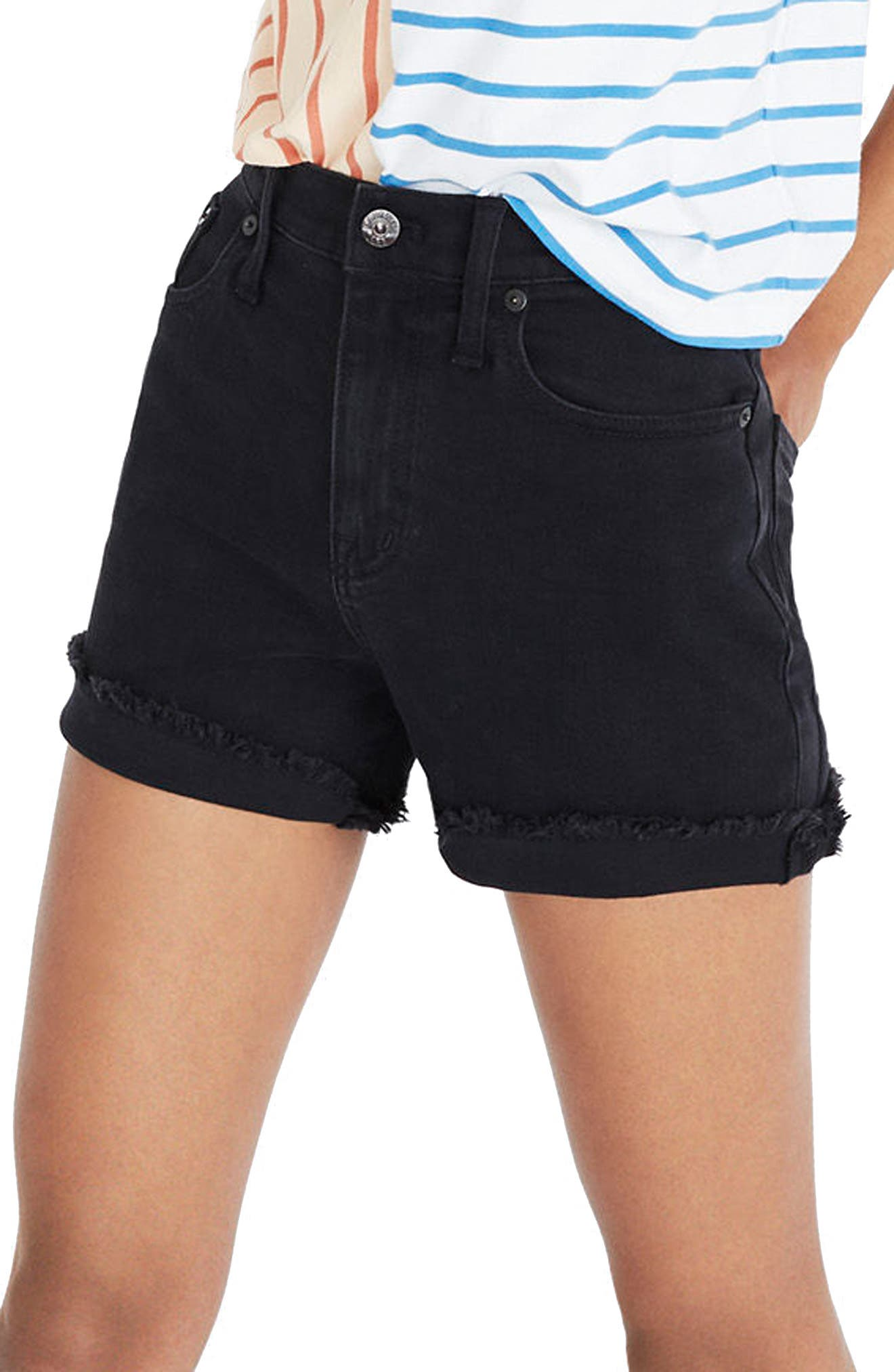 The Perfect Jean Shorts,                         Main,                         color, LUNAR